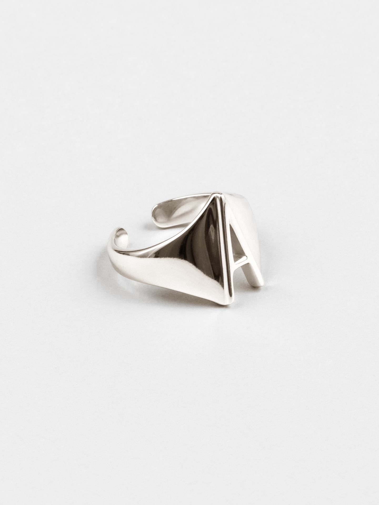 Letter A Ring