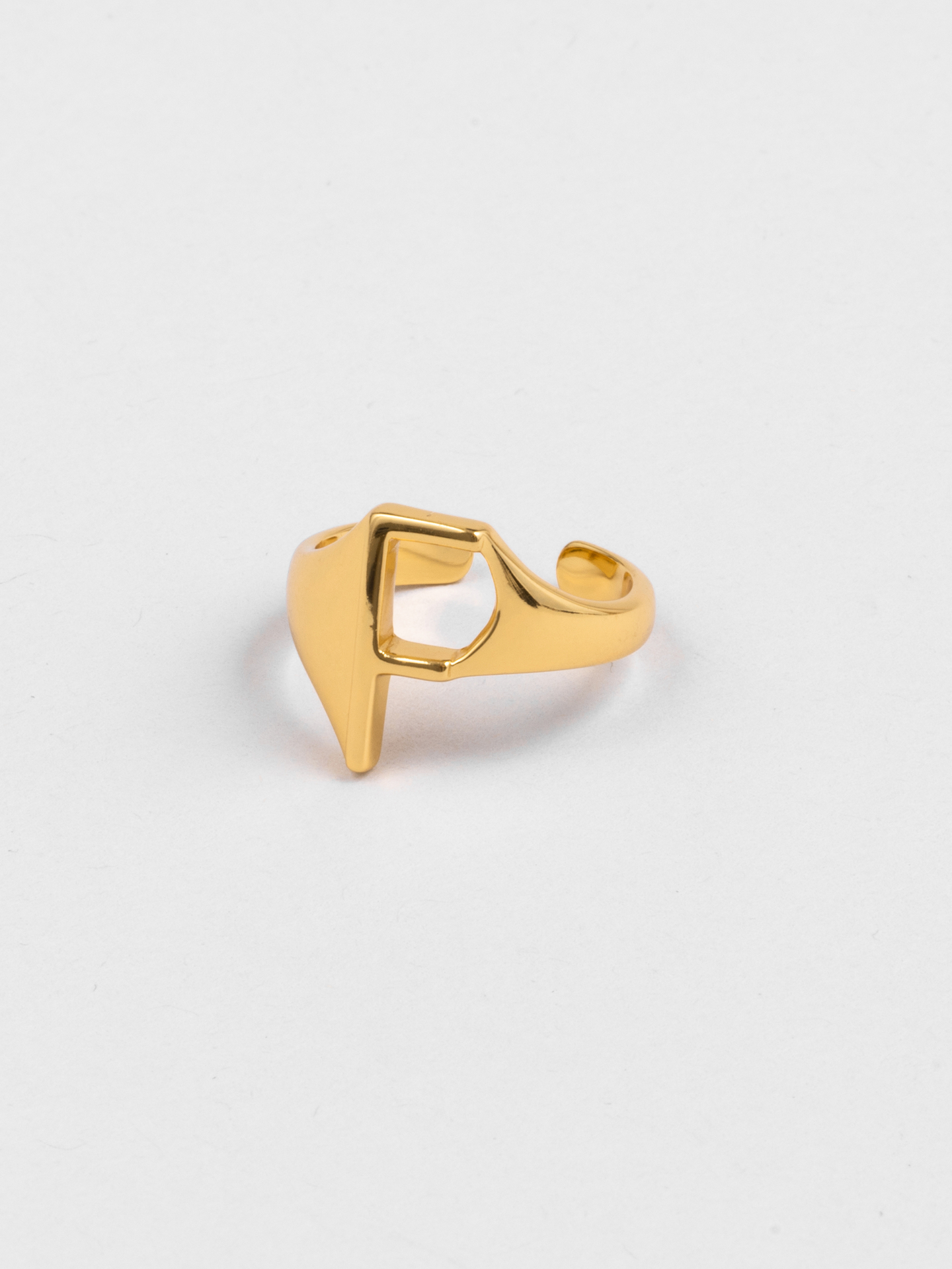 Letter F Ring