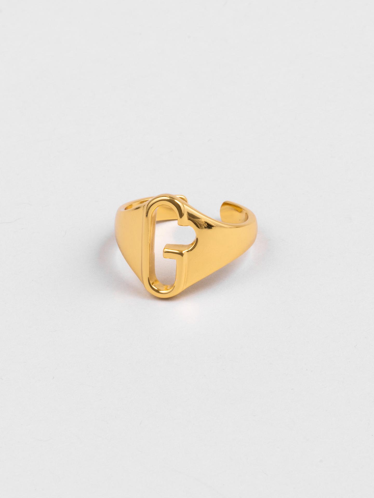 Letter G Ring