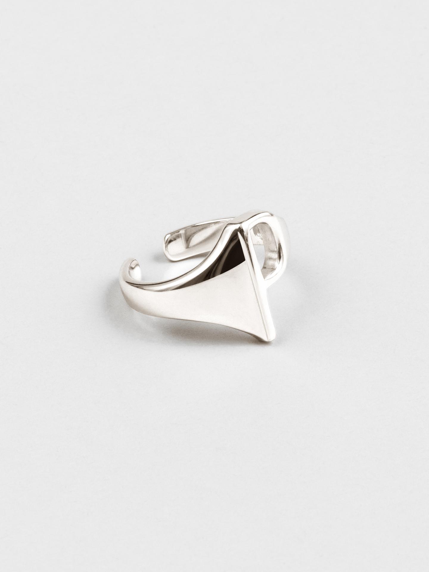 Letter P Ring