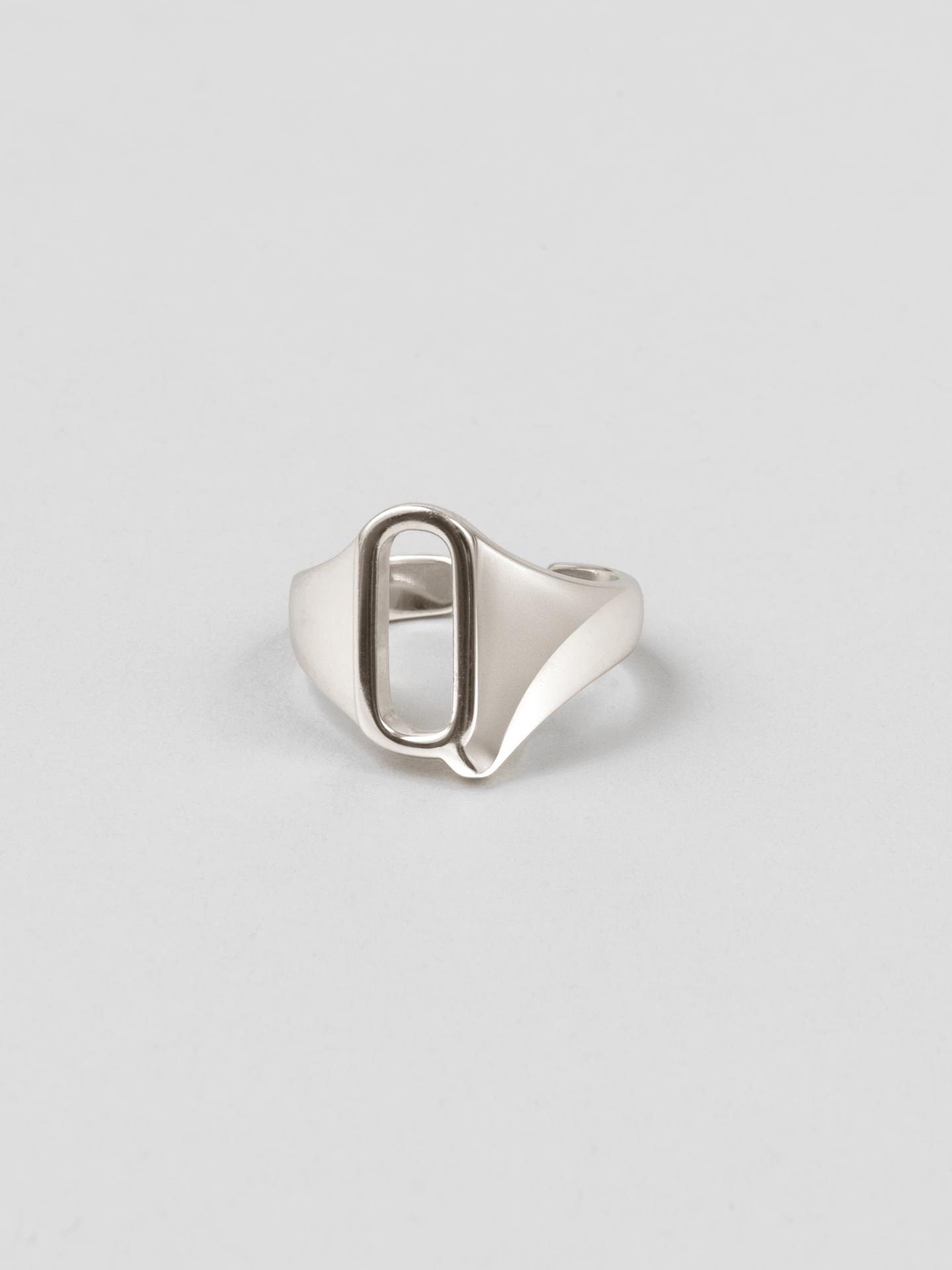 Letter Q Ring