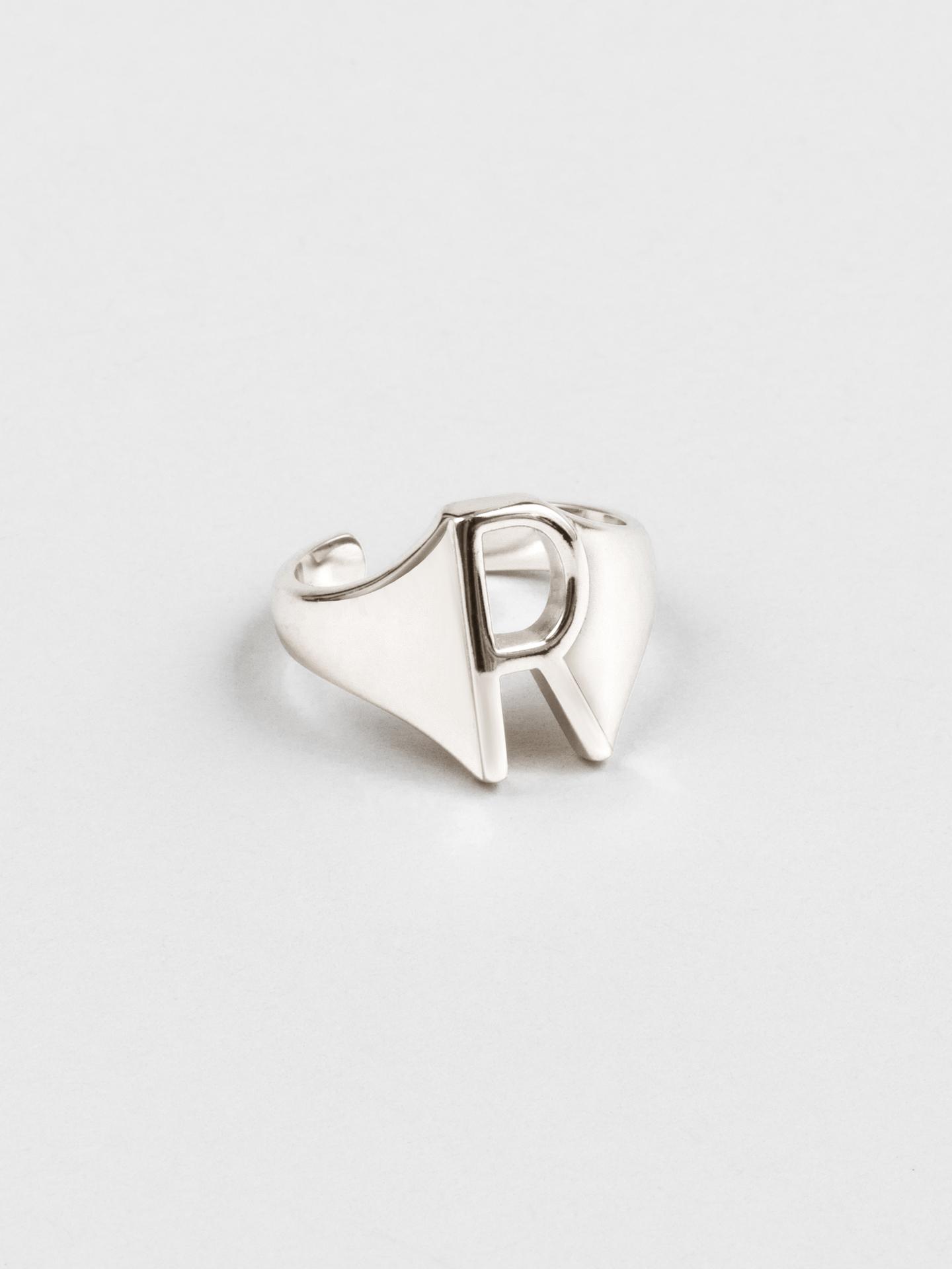 Letter R Ring