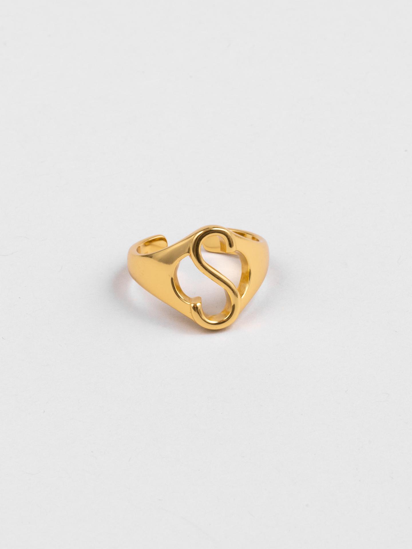 Letter S Ring