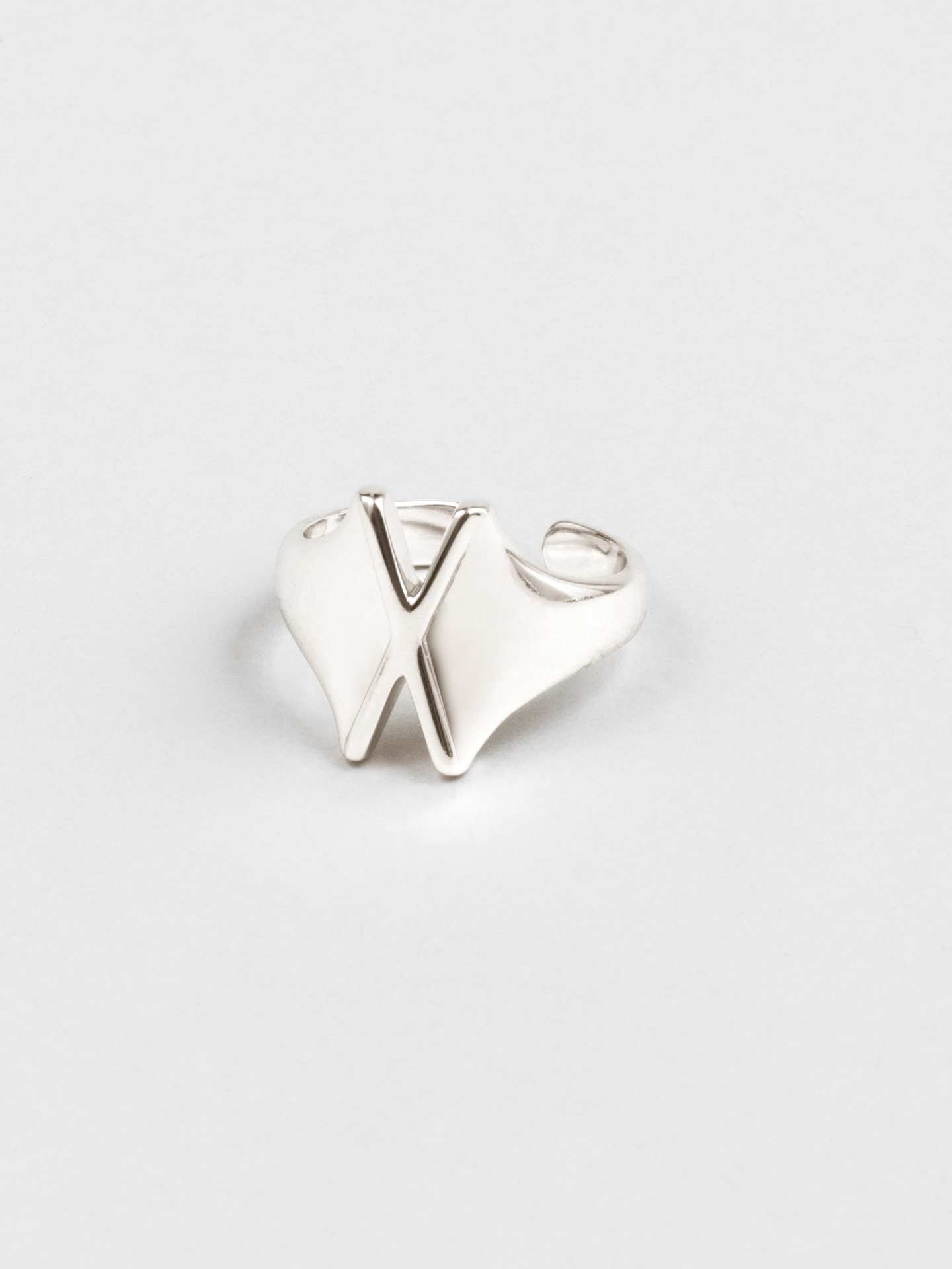 Letter X Ring