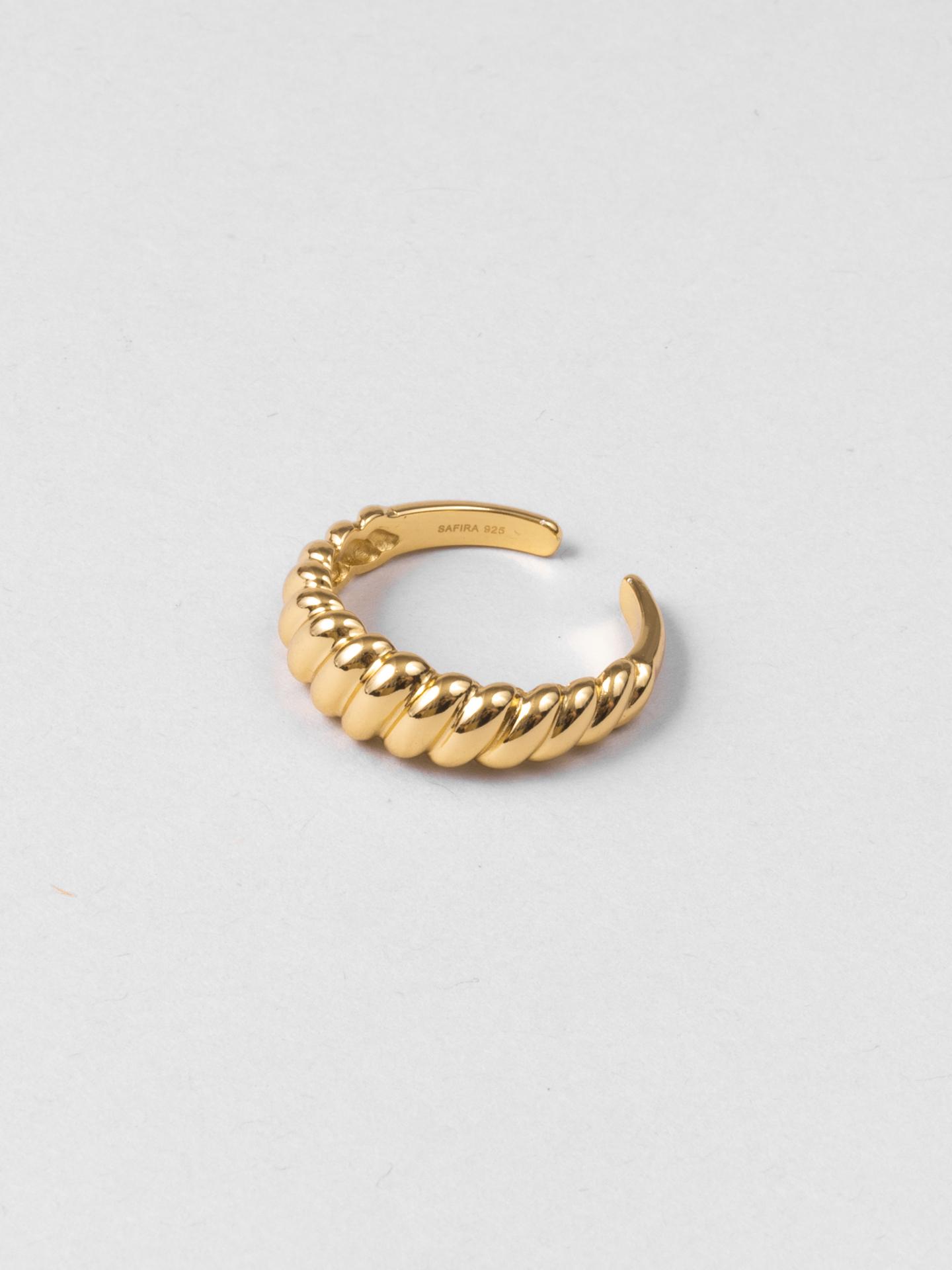 Plain Croissant Ring