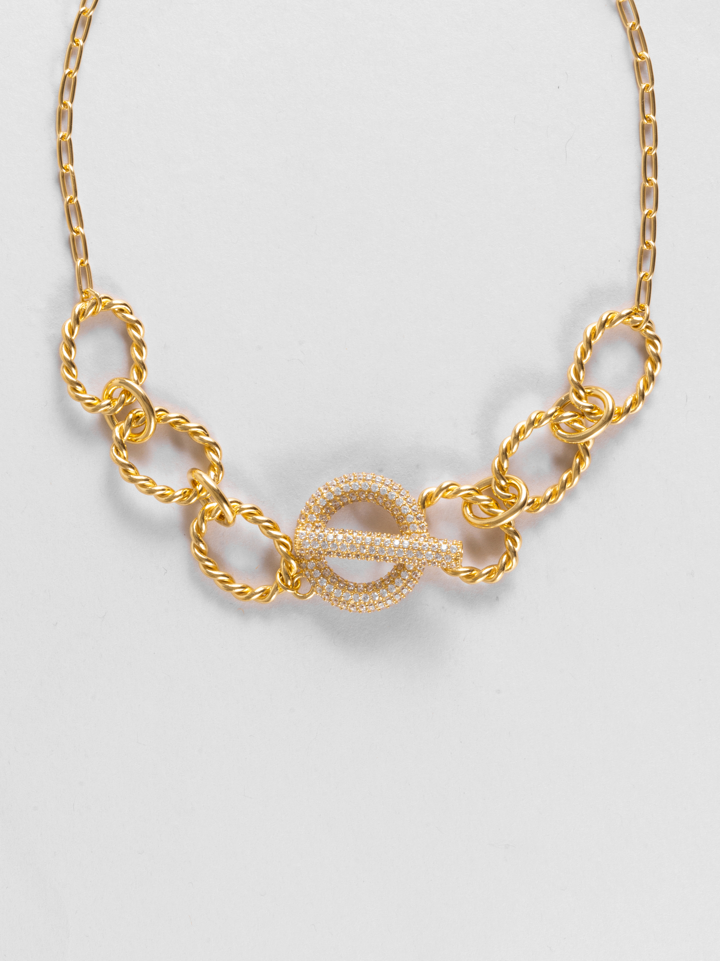 Donut Chain Necklace