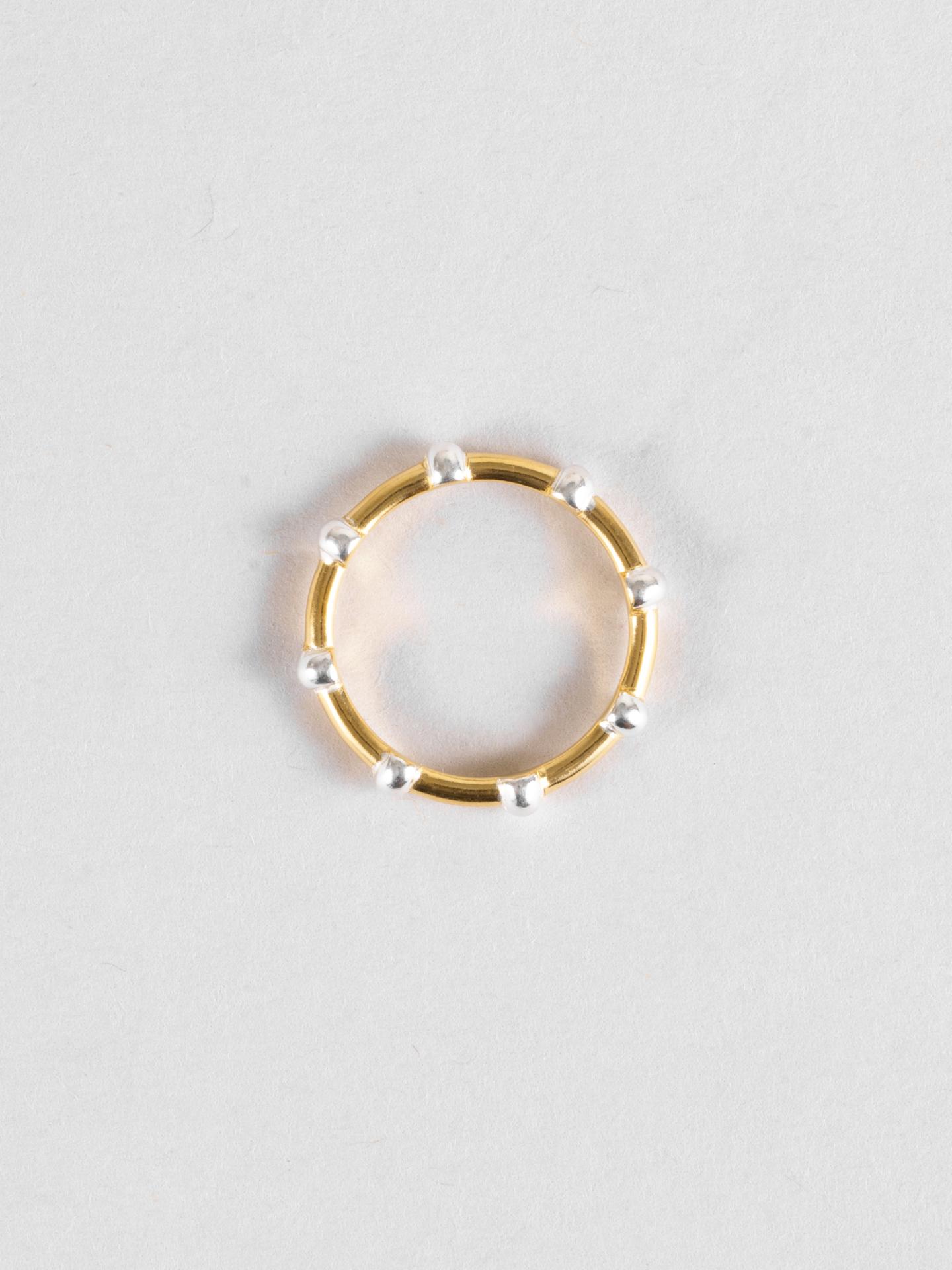 Mixed Macaron Ring