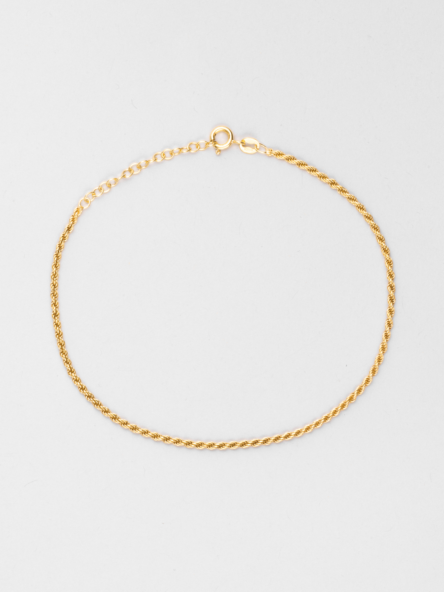 Delicate Rope Anklet
