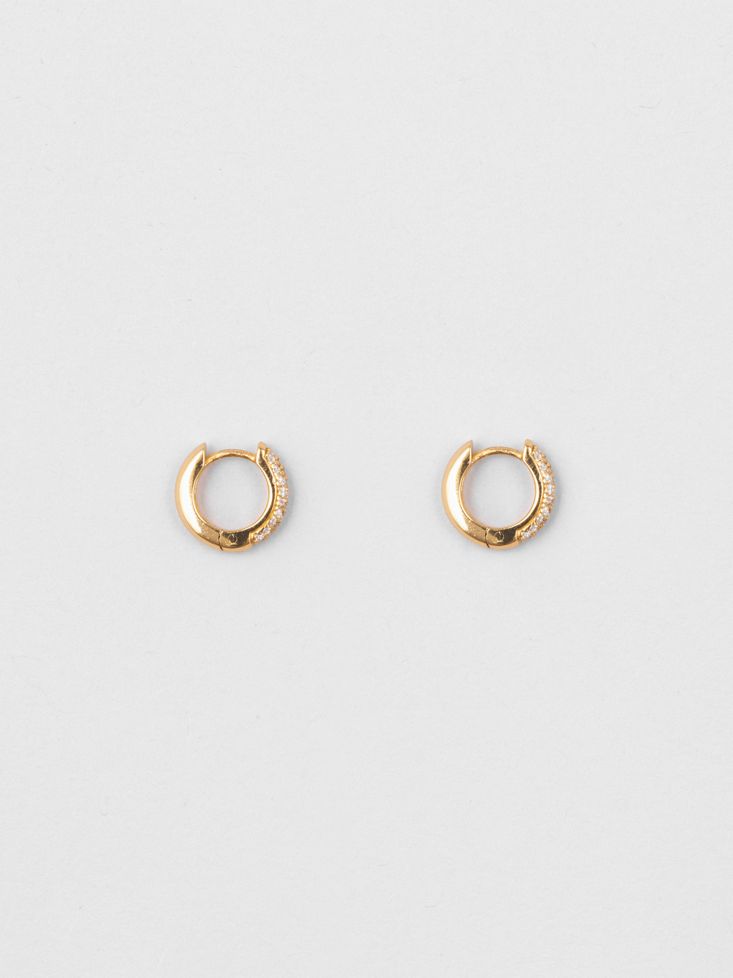 Sparkle Deco Hoops