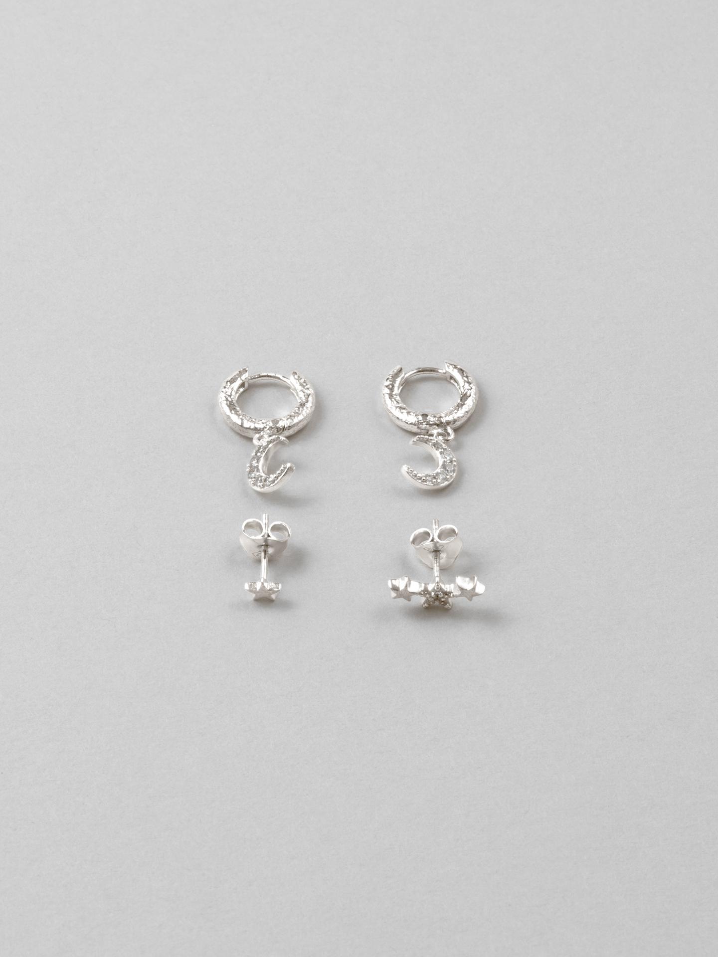 Stargaze 4-pack of Earrings