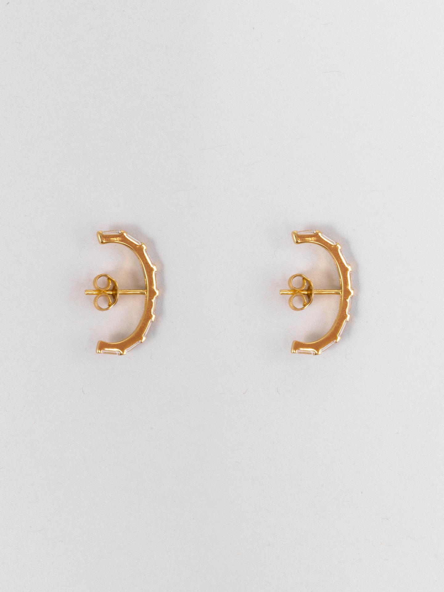 Ultra Baguette Earrings