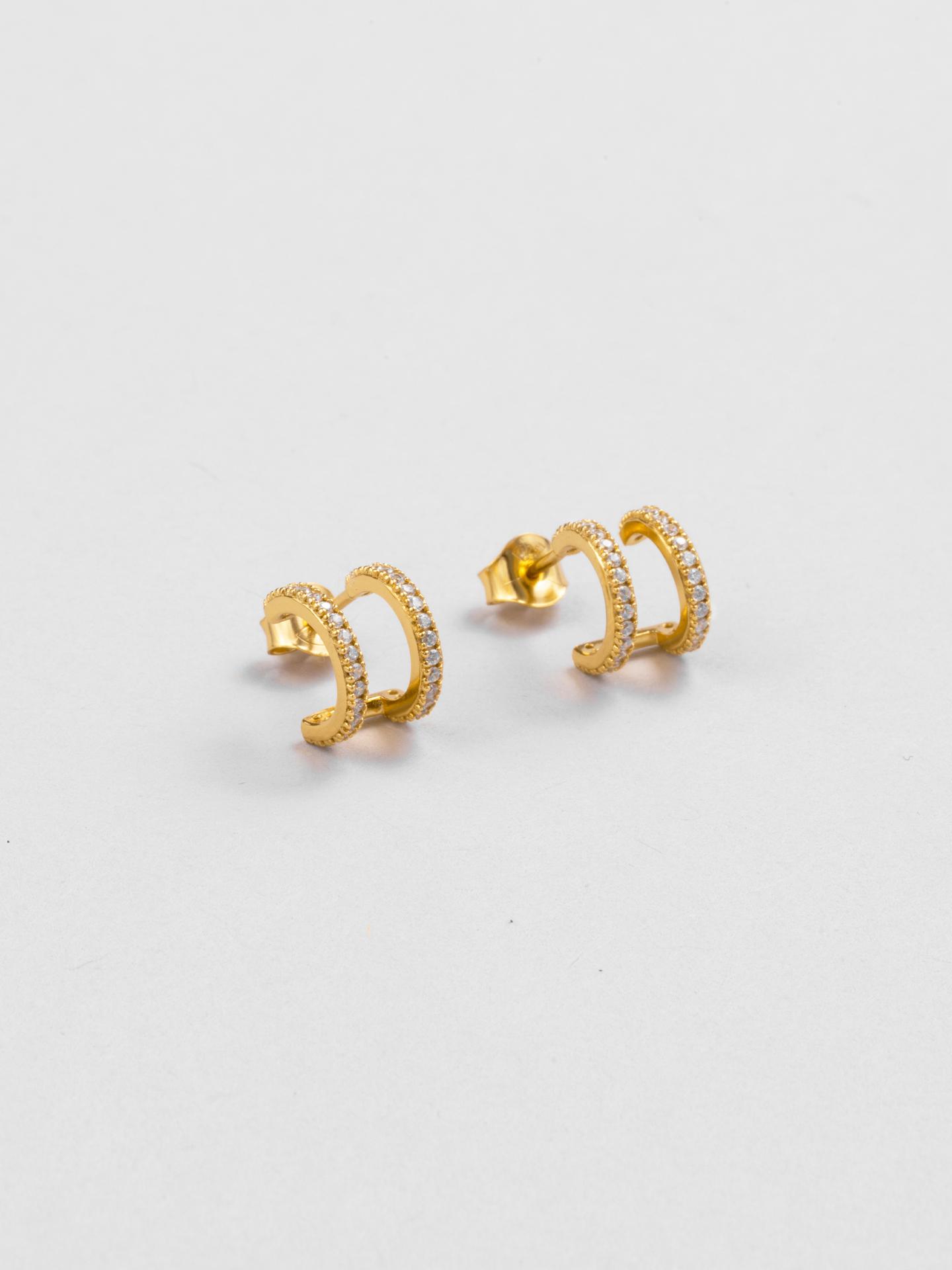 Double Dimension Earrings
