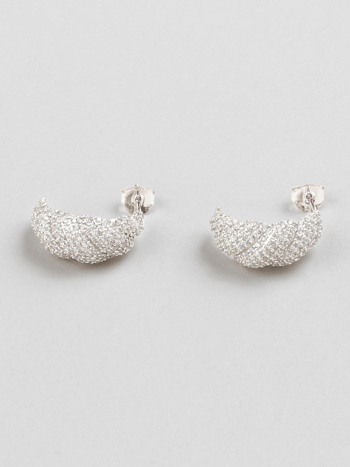 Croissant Earrings