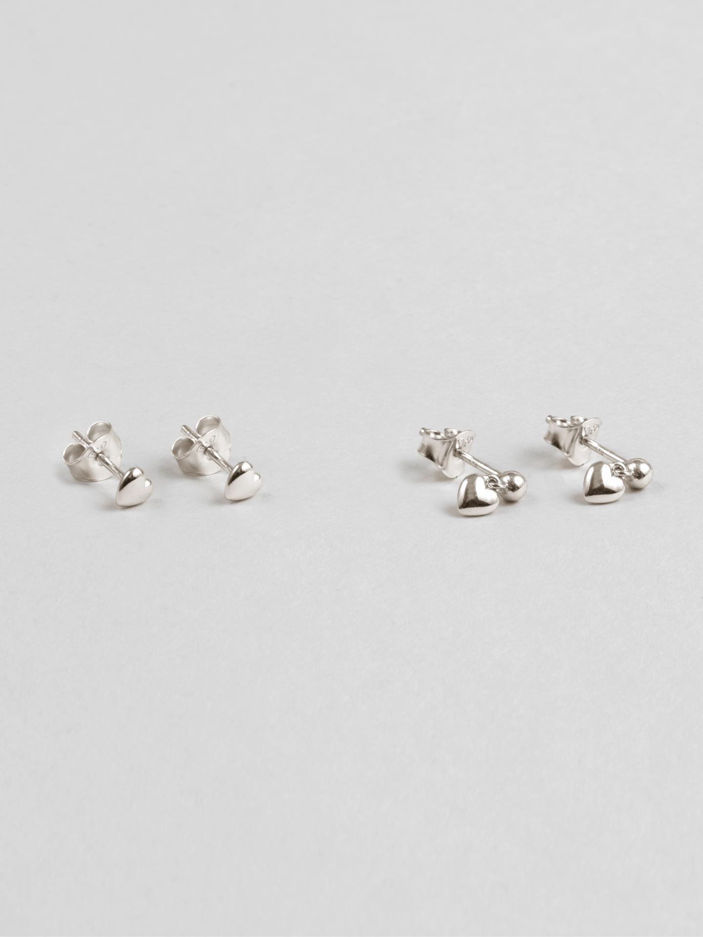 Multipack Heart Earrings
