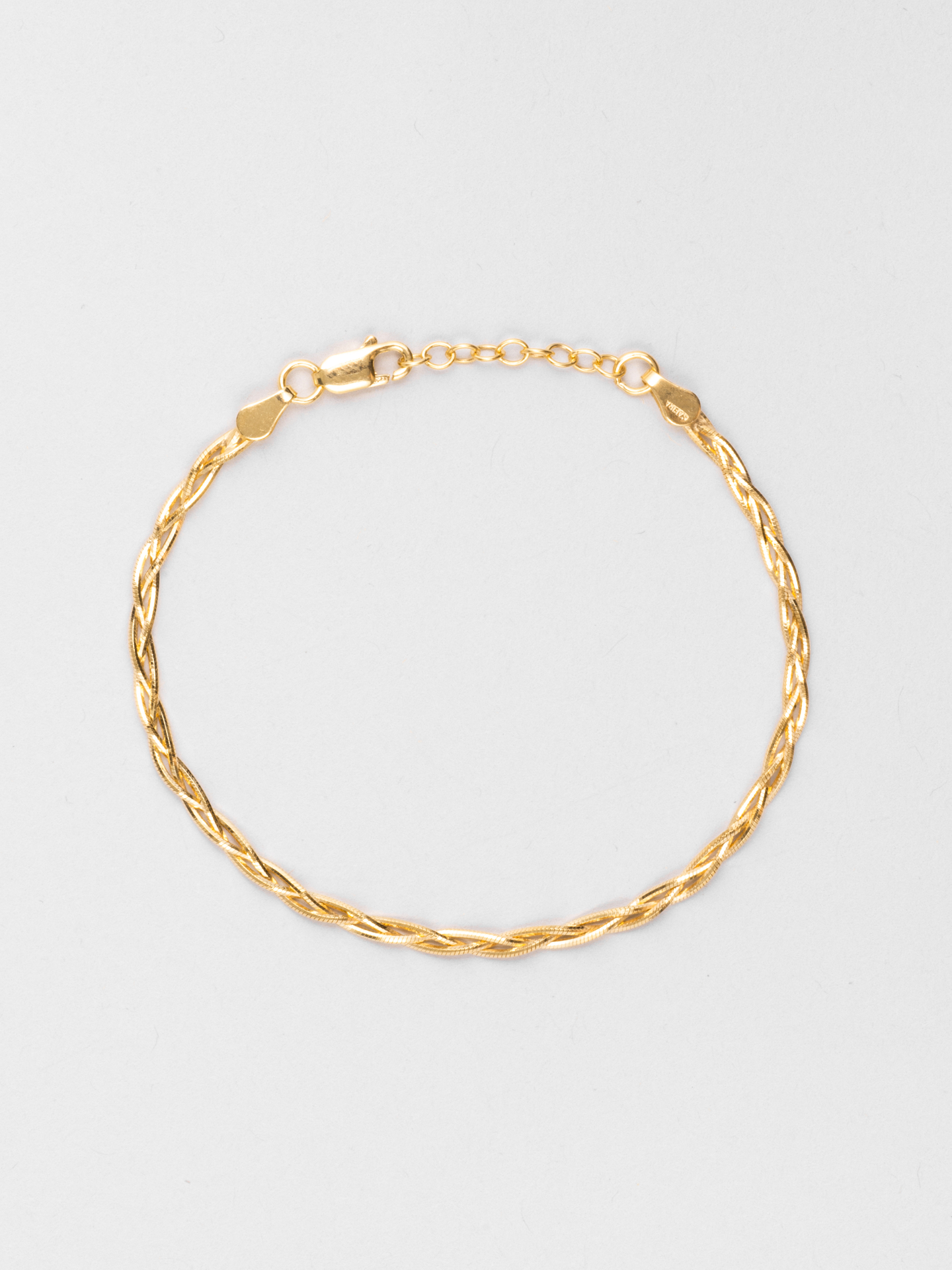 Braided Snake Chain Bracelet