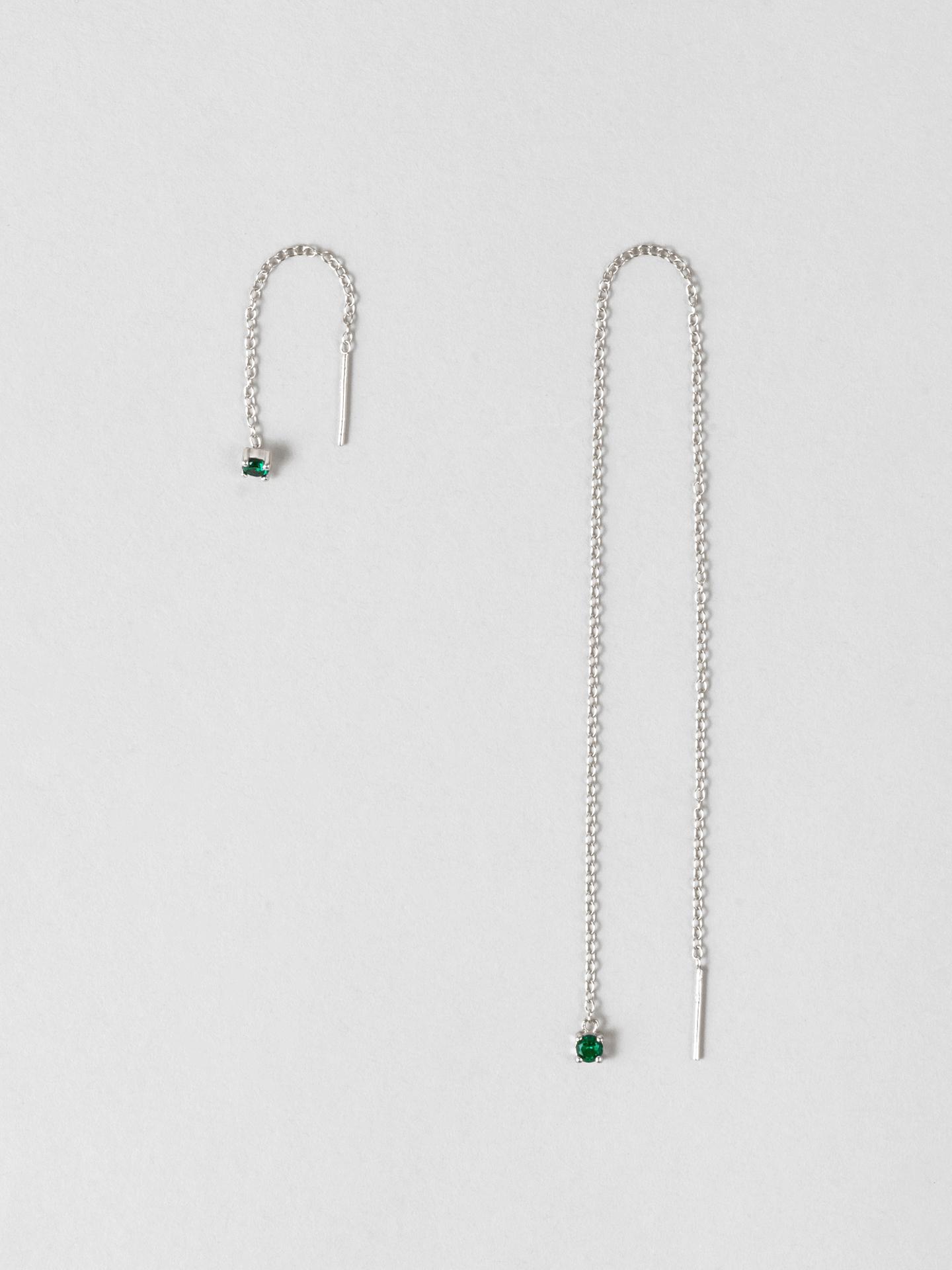 Green Strength Earrings