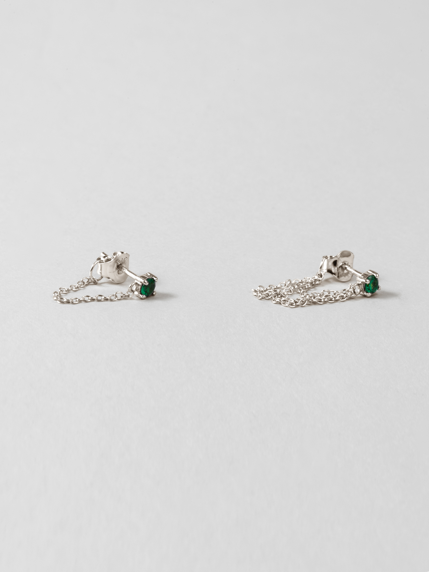 Green Skyfall Earrings