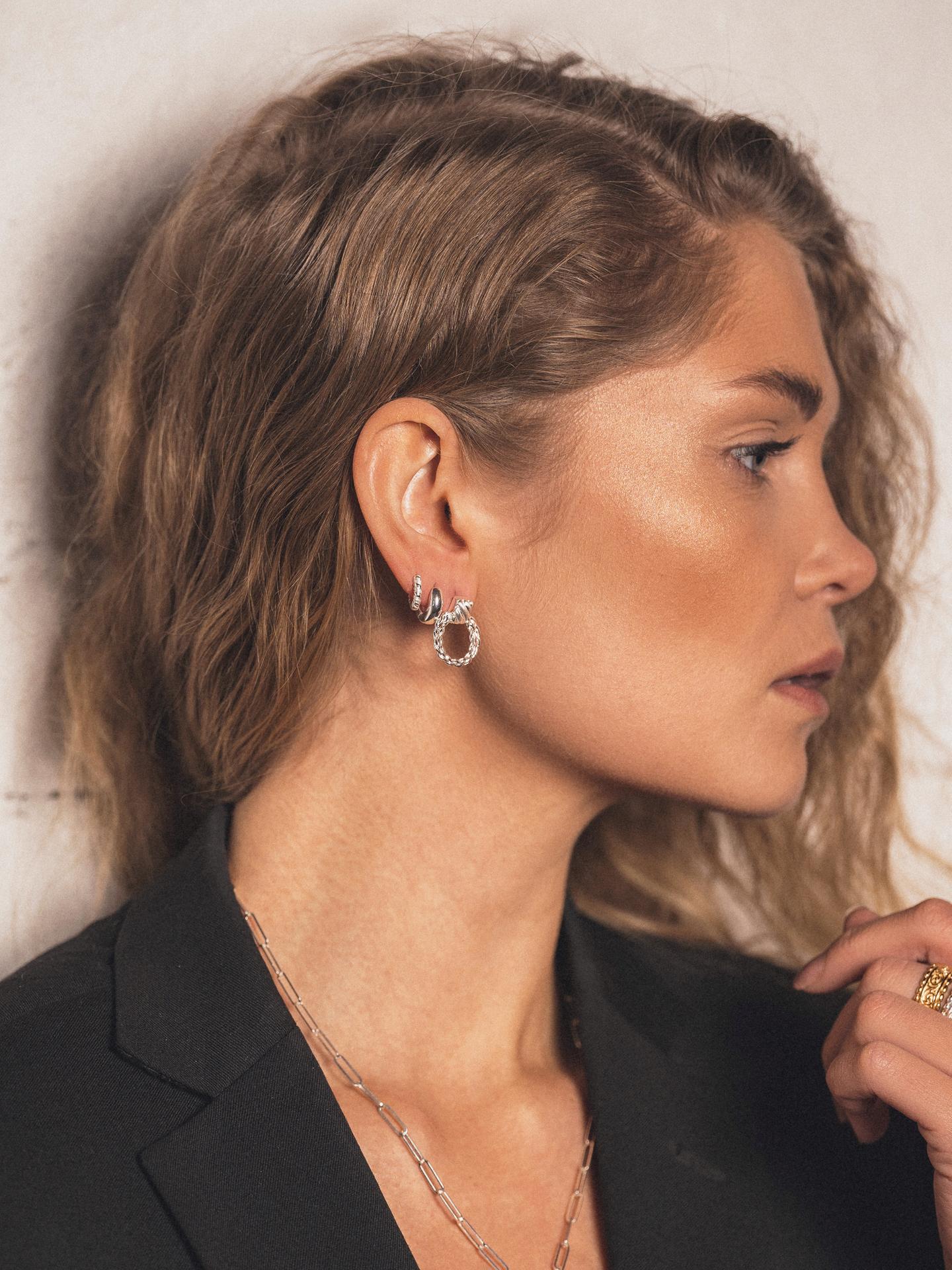 Bold Braided Earrings