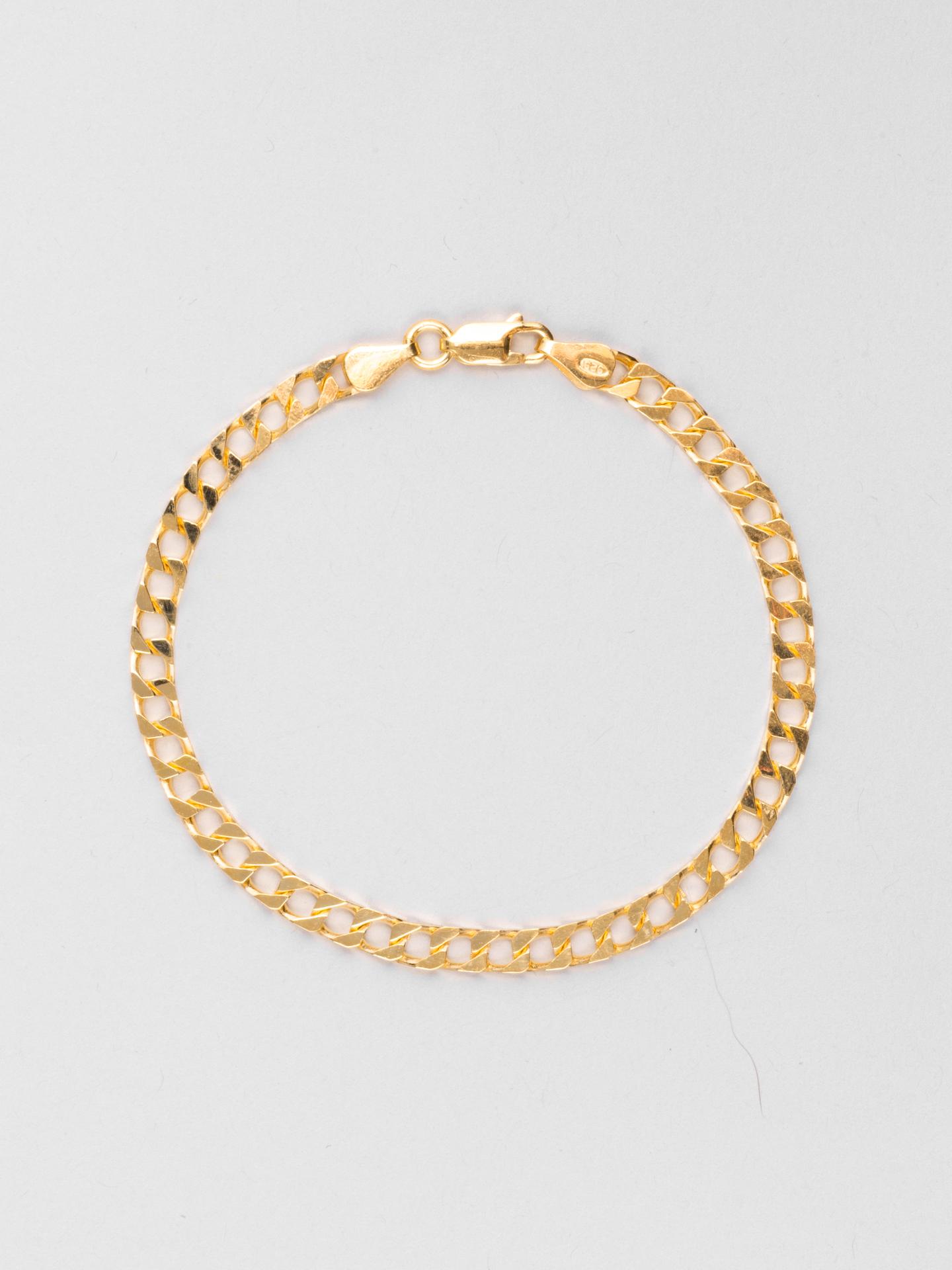Square Curb Chain Bracelet