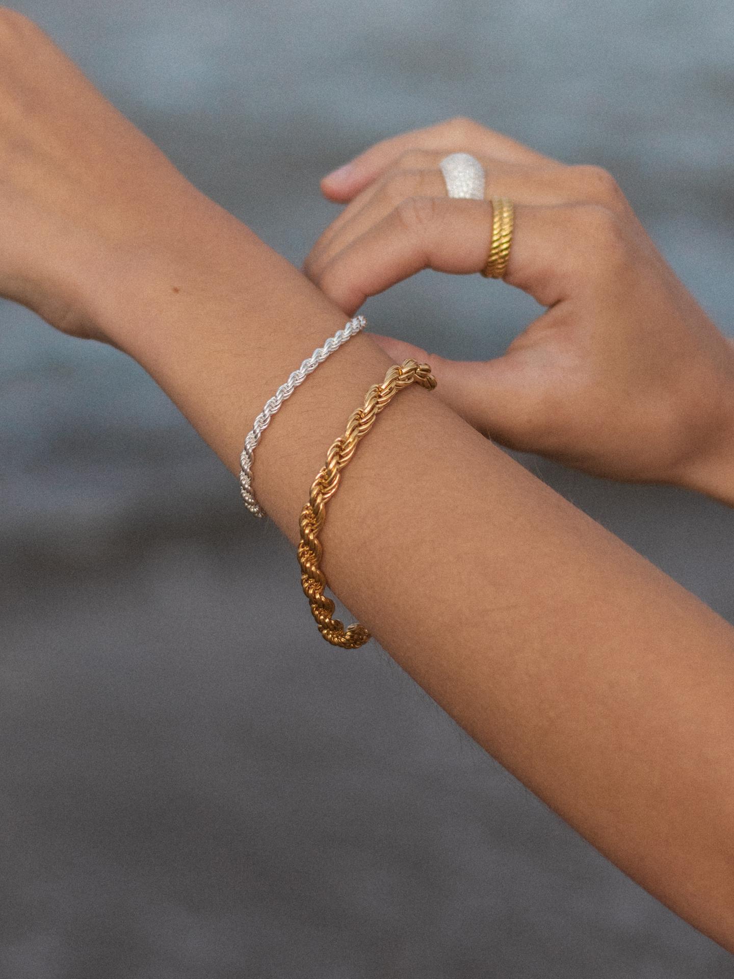 Big Corda Chain Bracelet
