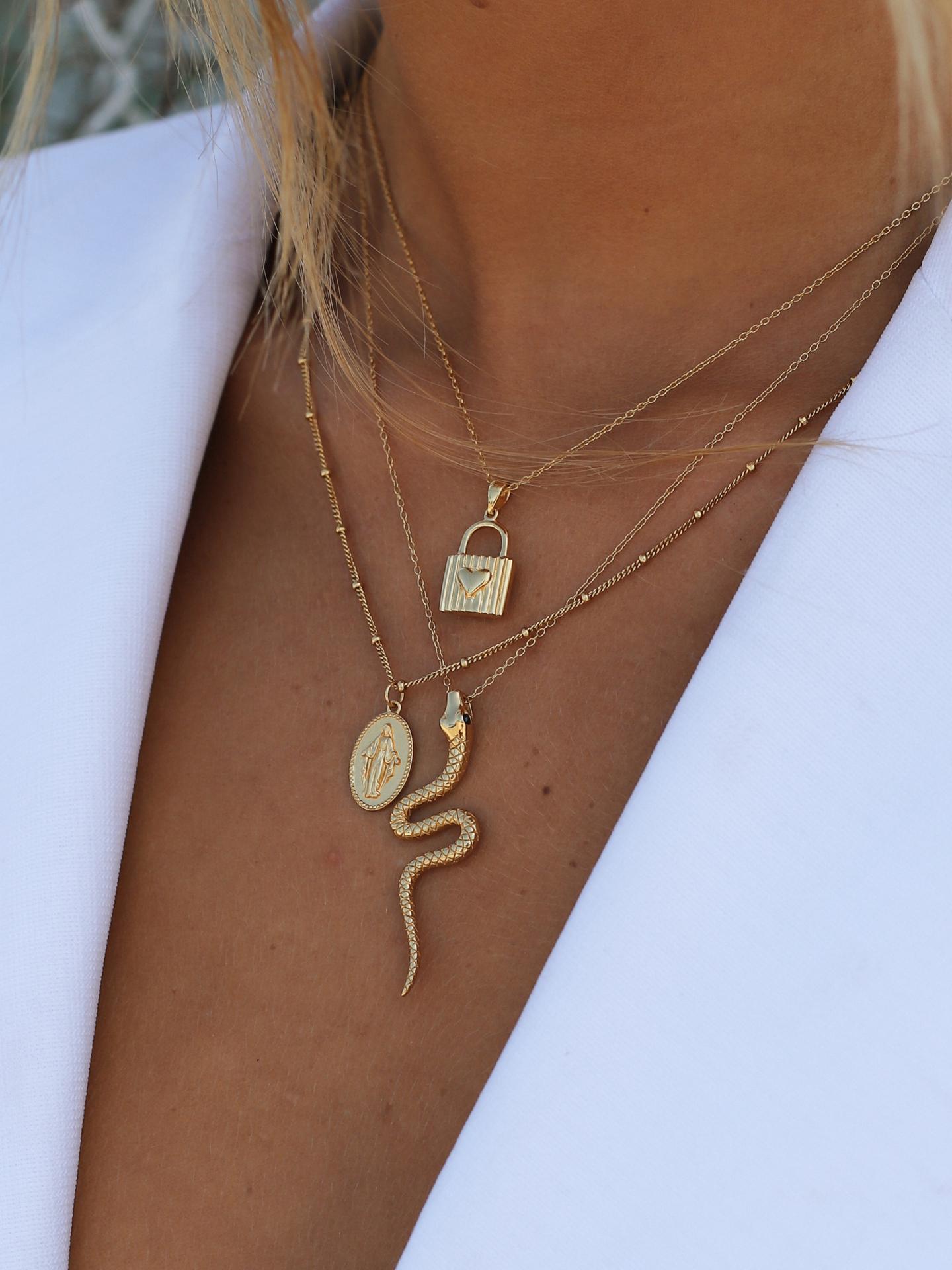 Baby Snake Necklace