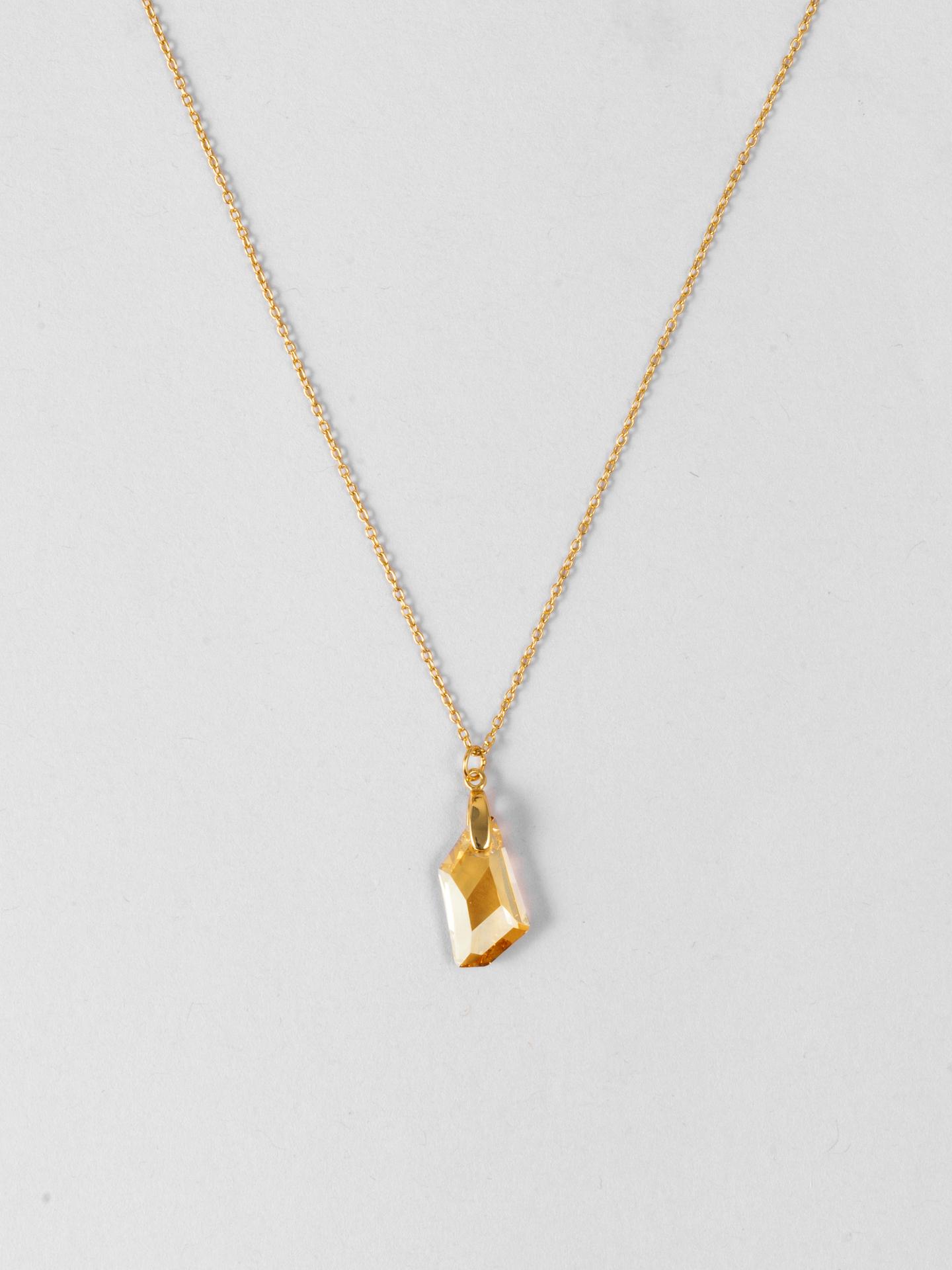 Goldschatten Swarovski Kristall Halskette