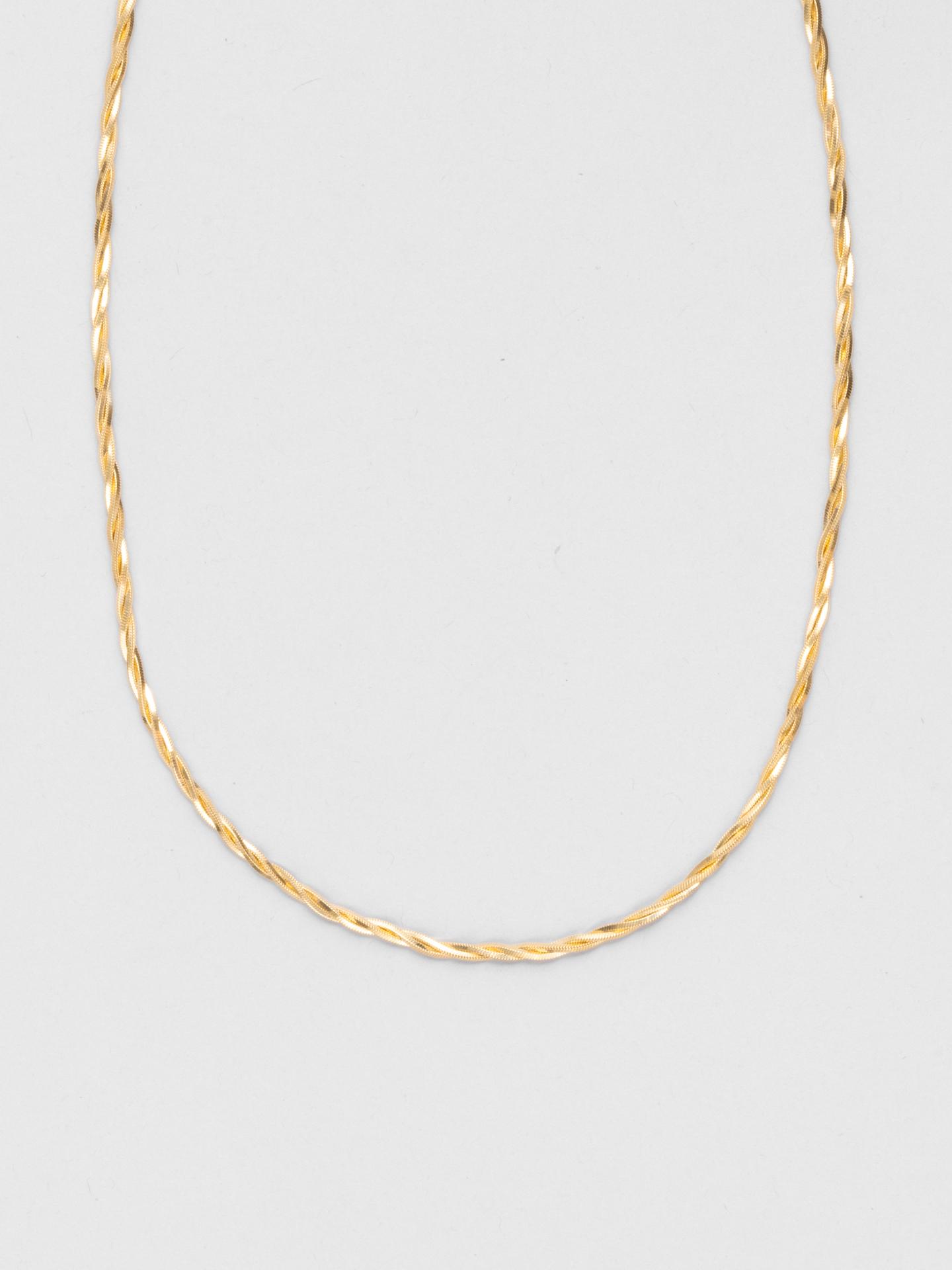 Sharp Twist Halskette