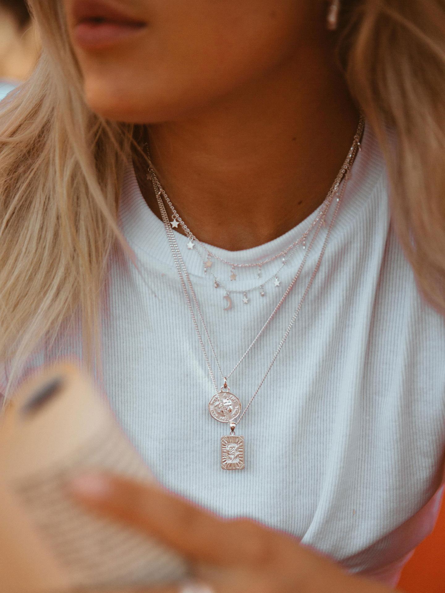 Burning Rose Necklace