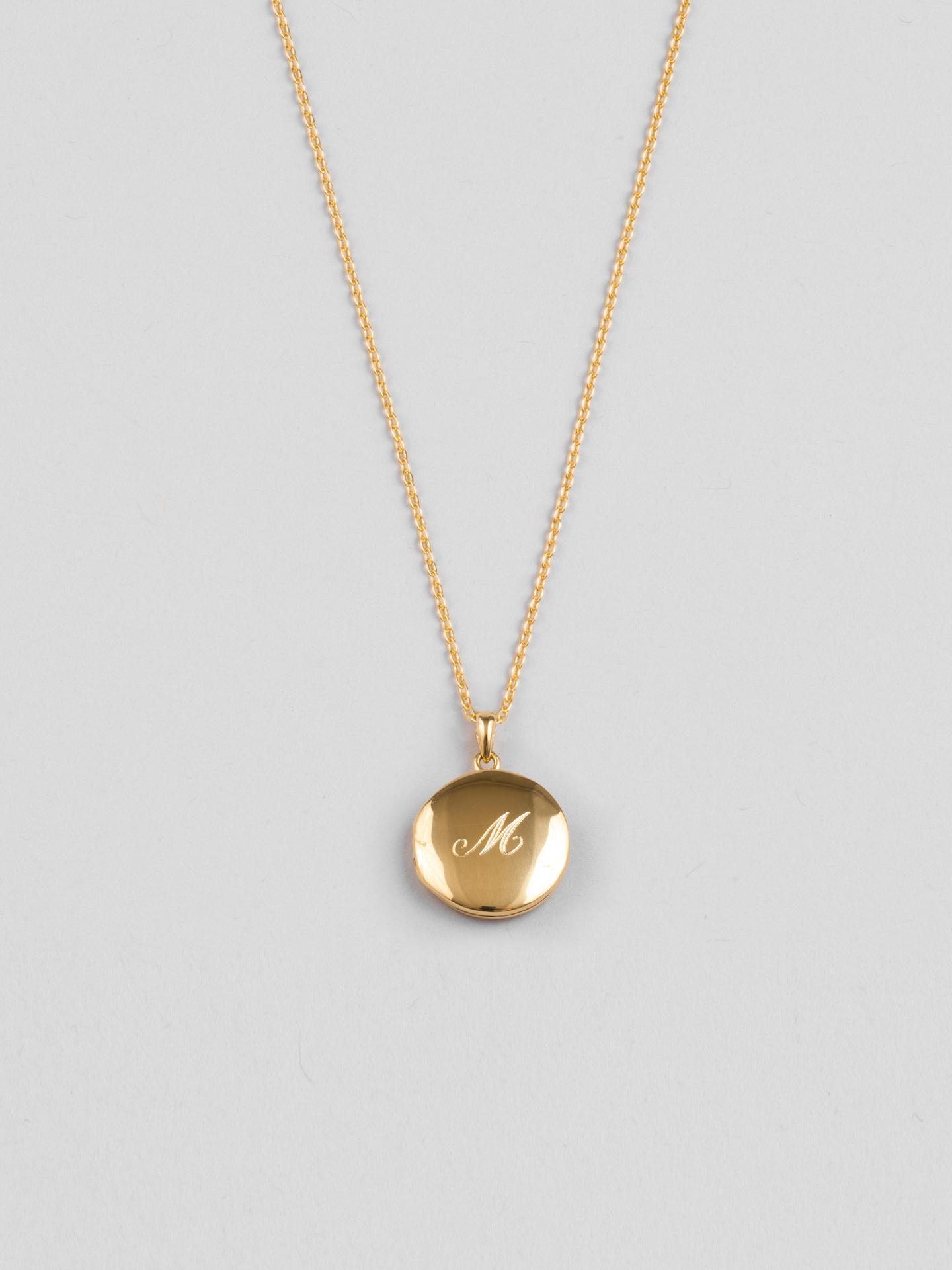 Round Medallion Necklace
