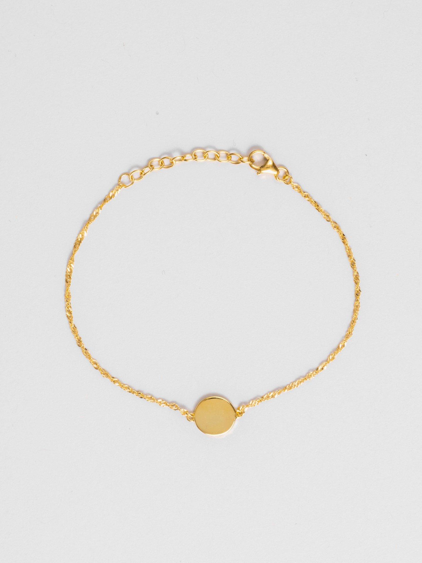 Round Engraving Bracelet