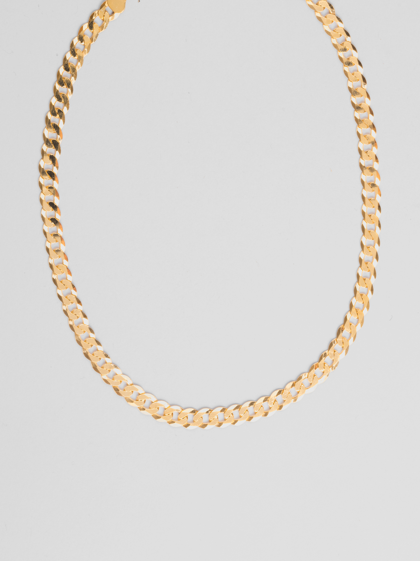 Chunky Curb Halskette