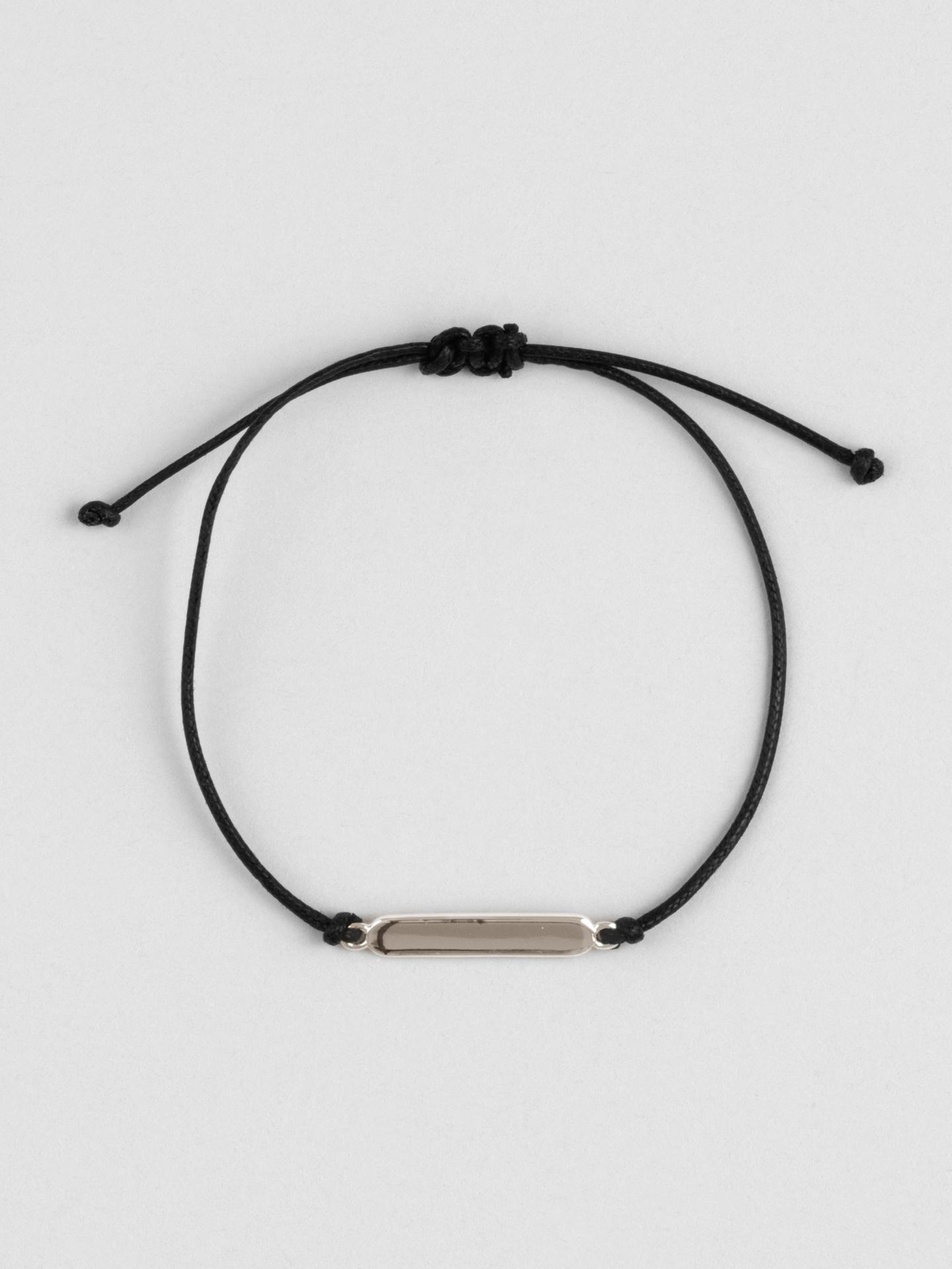 Engraving Braided Bracelet