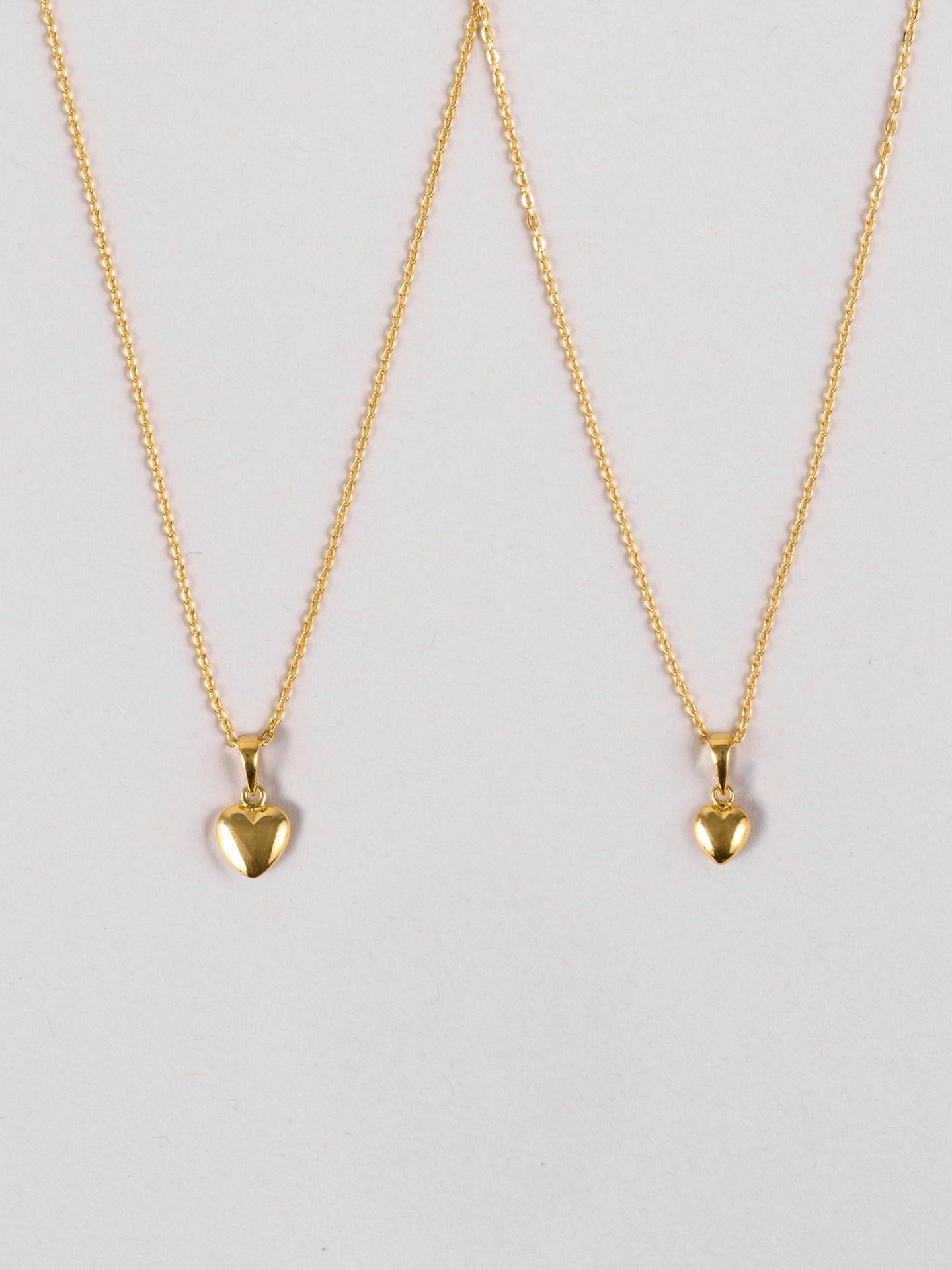 Mini Me Heart Halsketten-Set