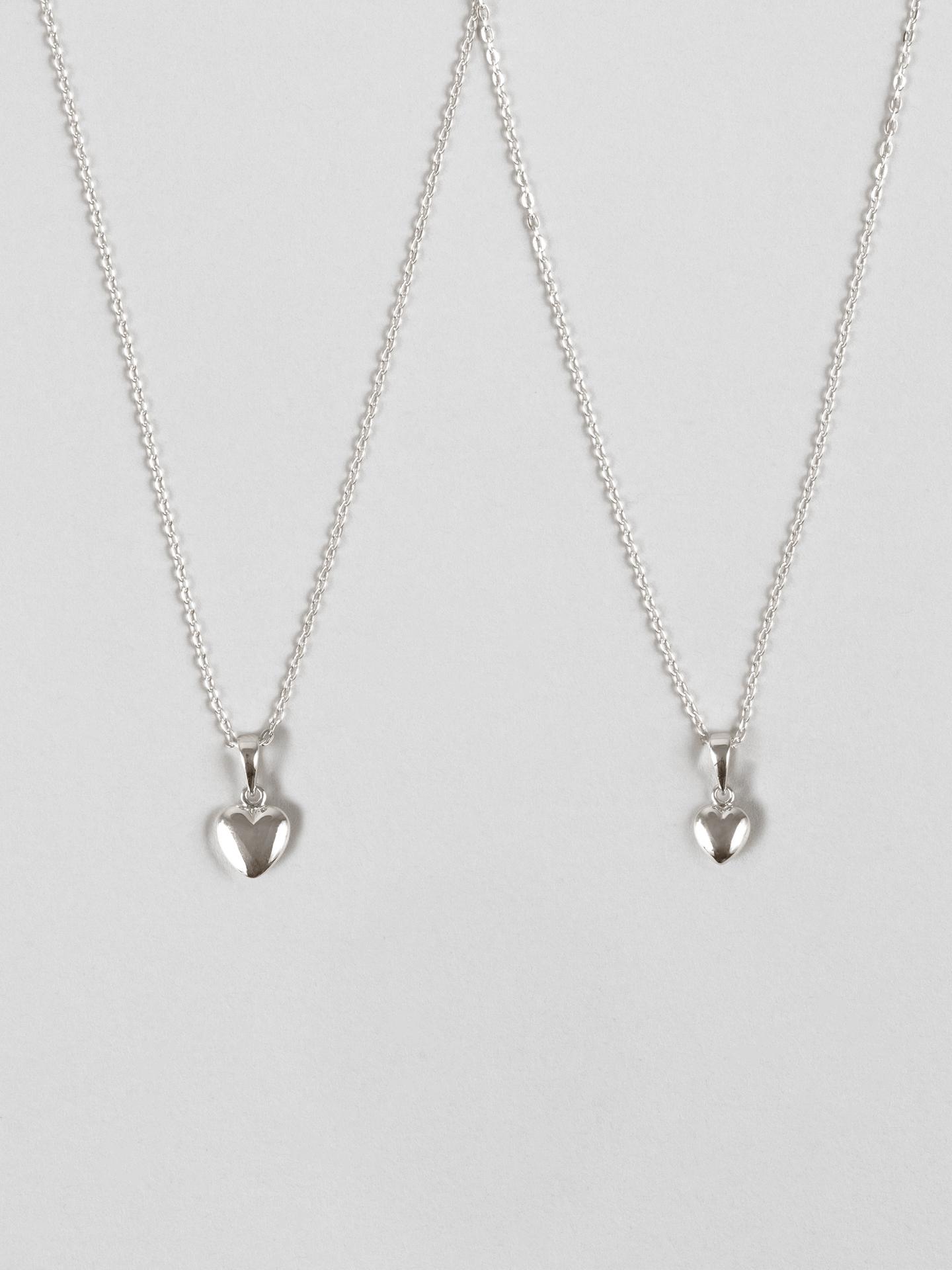 Mini Me Heart Necklace Set