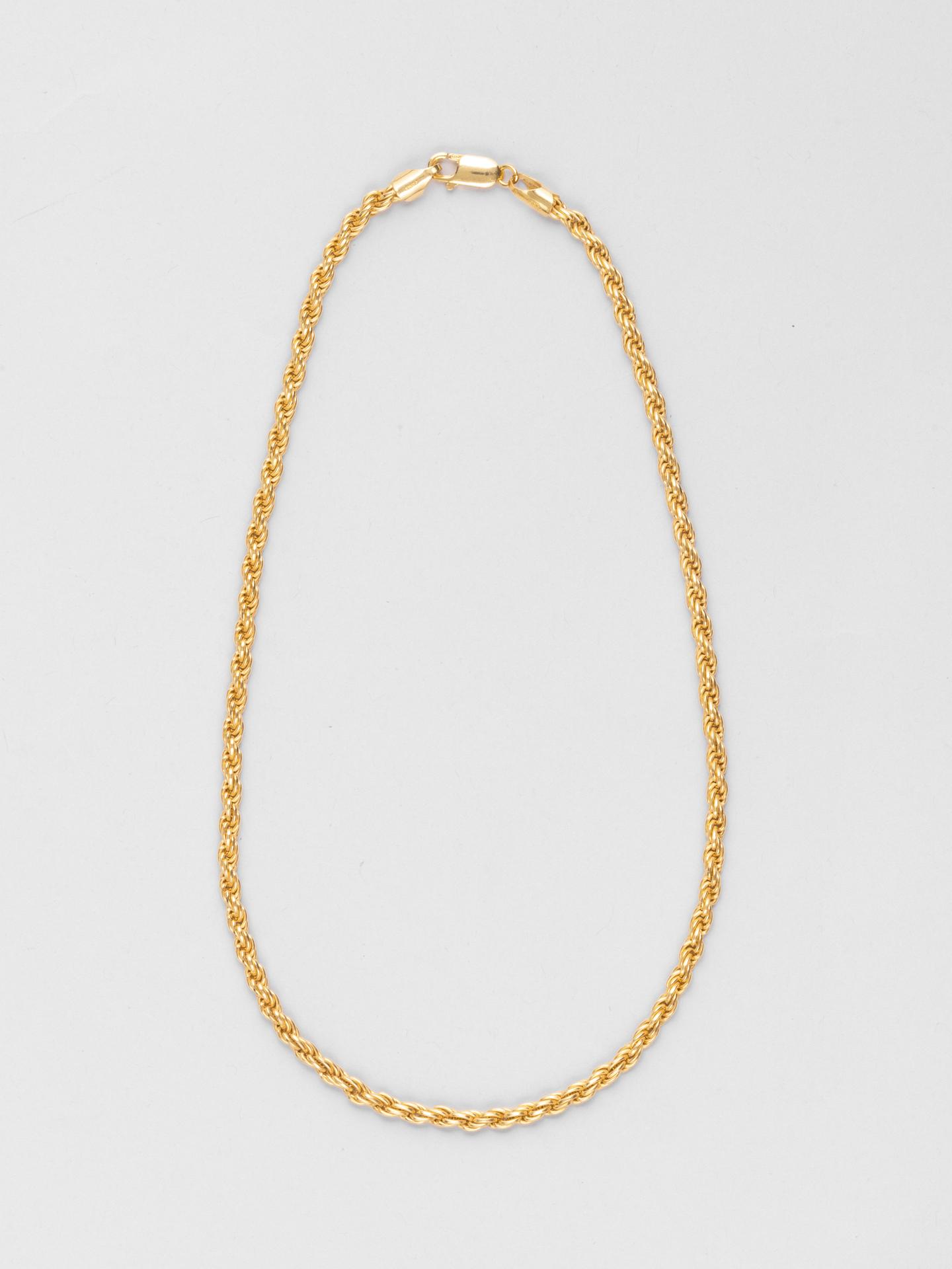 Small Corda Chain Necklace