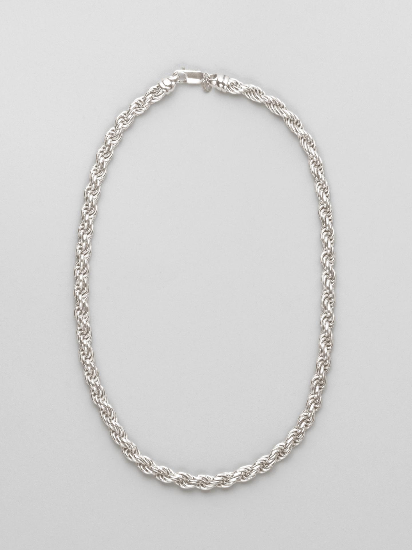 Big Corda Chain Necklace