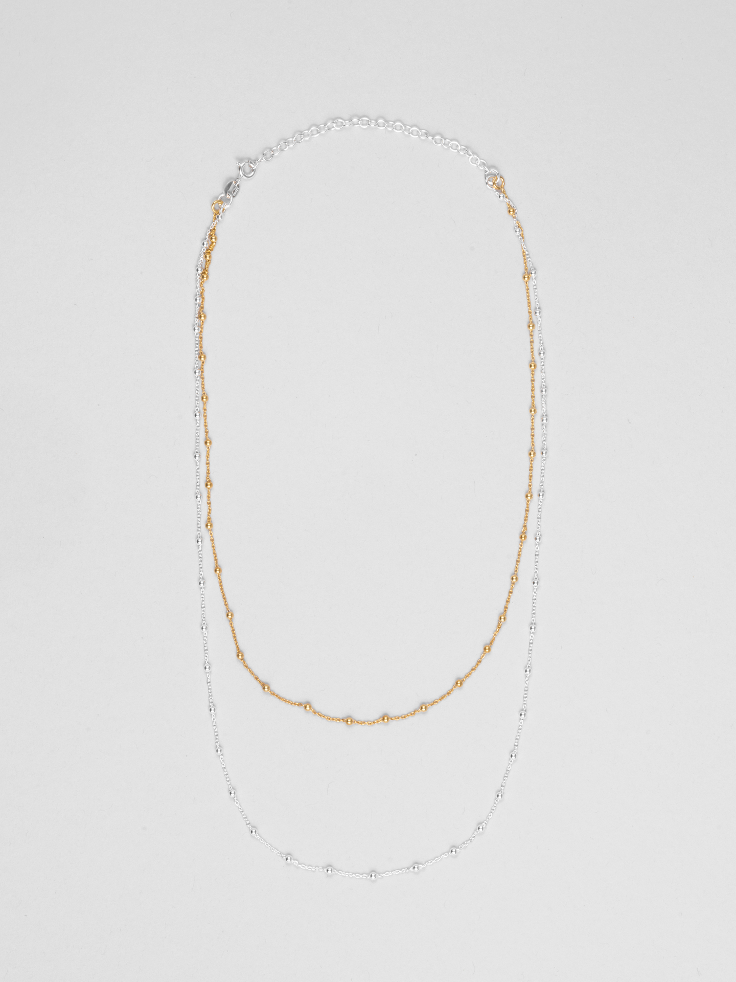Mixed Dot Chain Necklace