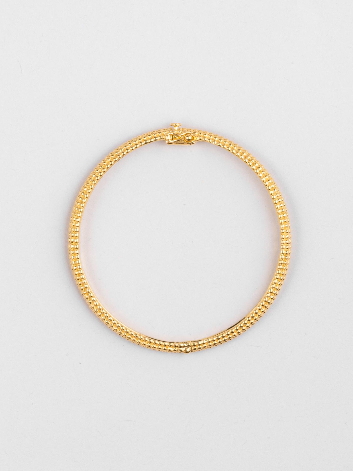 Honey Comb Big Bracelet