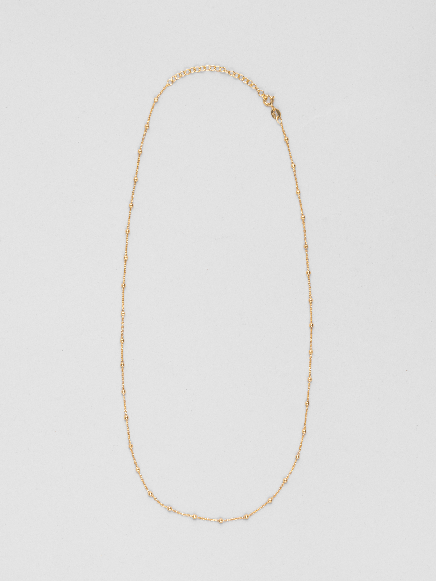 Long Dot Necklace