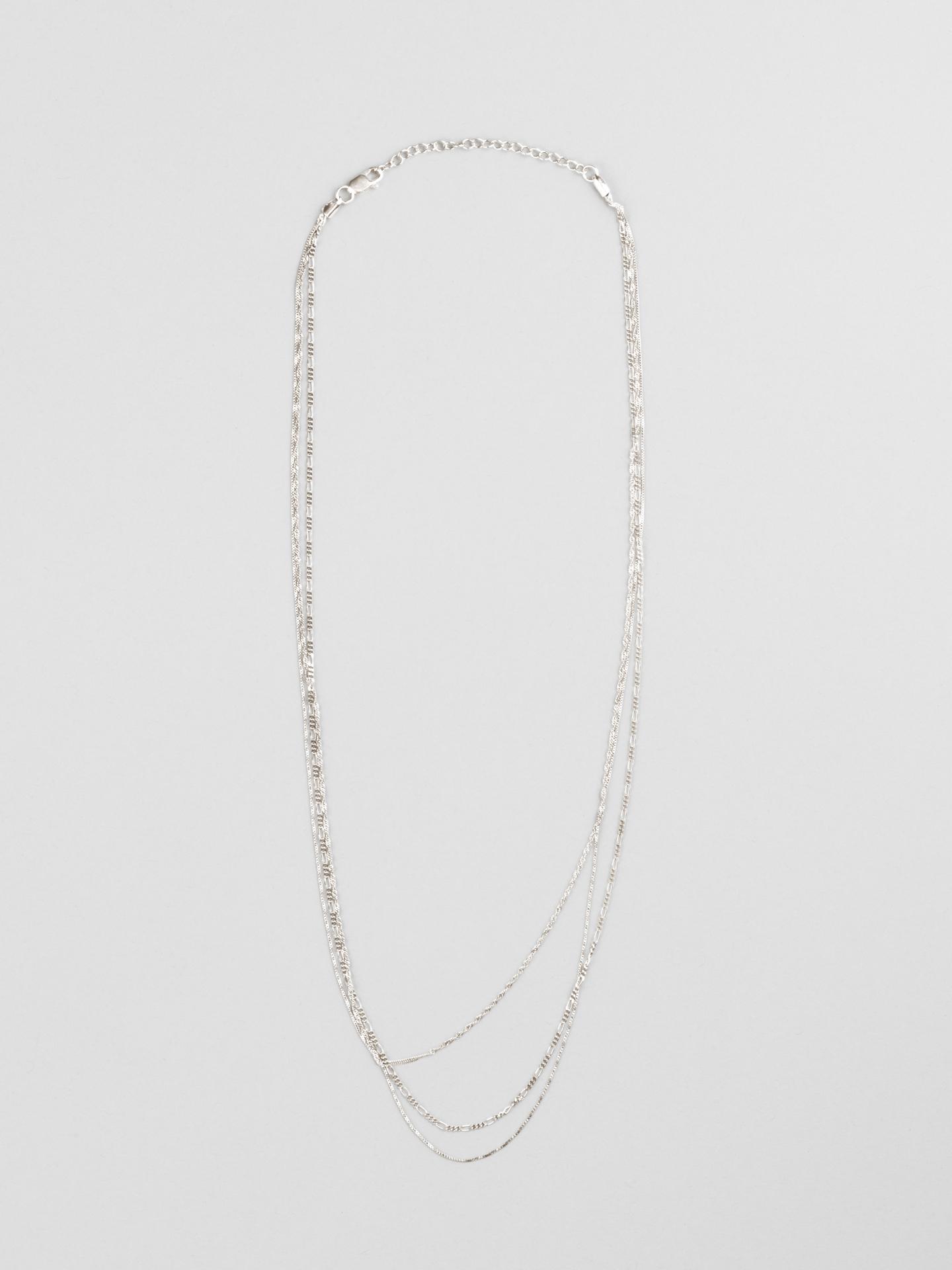 Trio Row Necklace