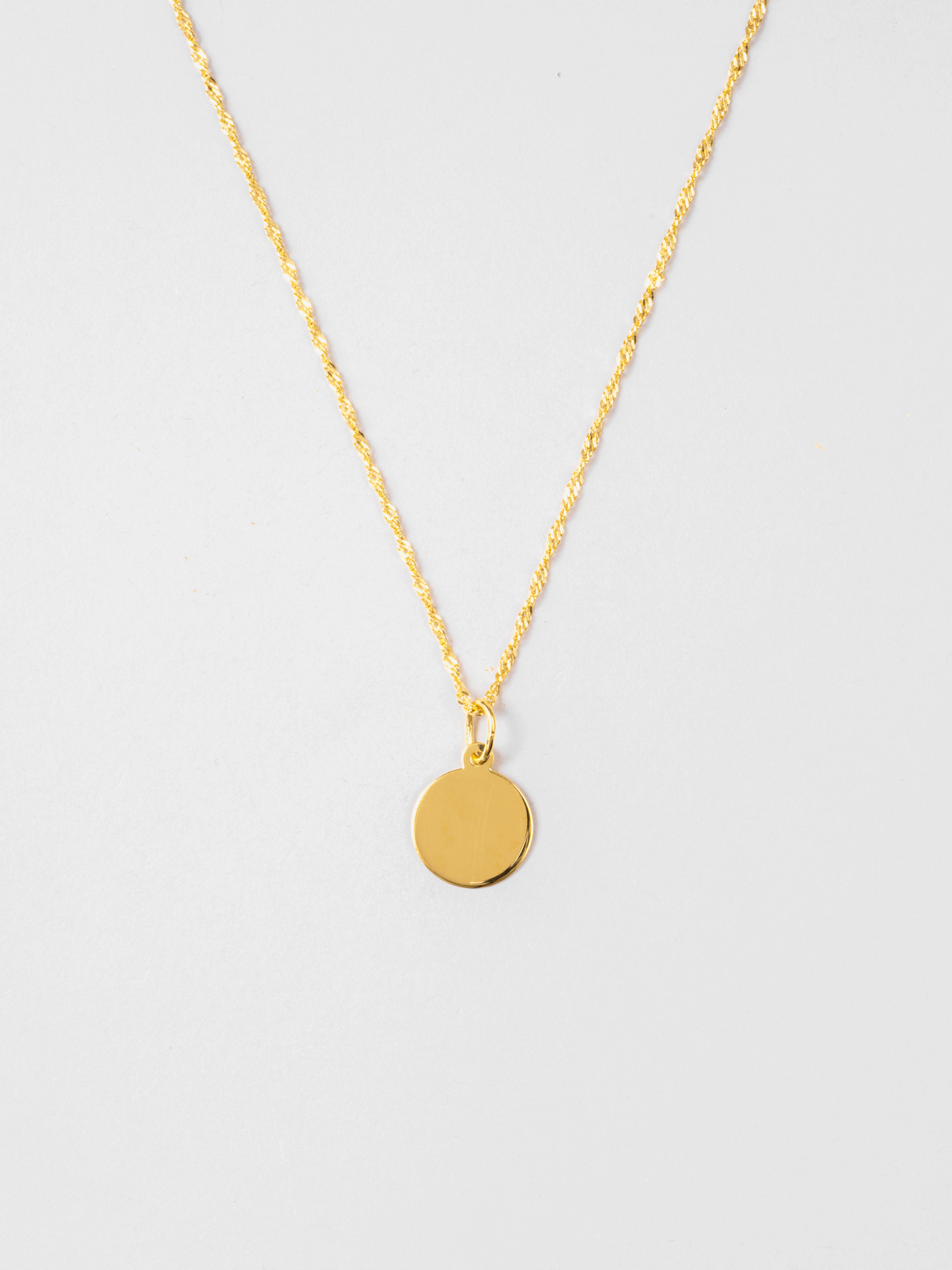 Disc 01 Necklace