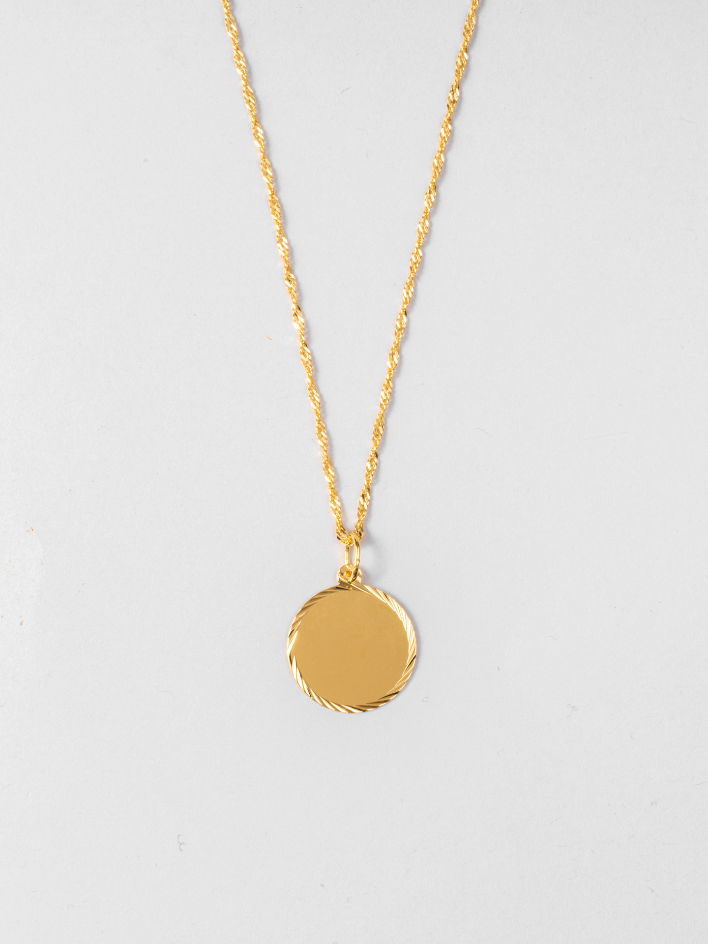 Disc 02 Necklace
