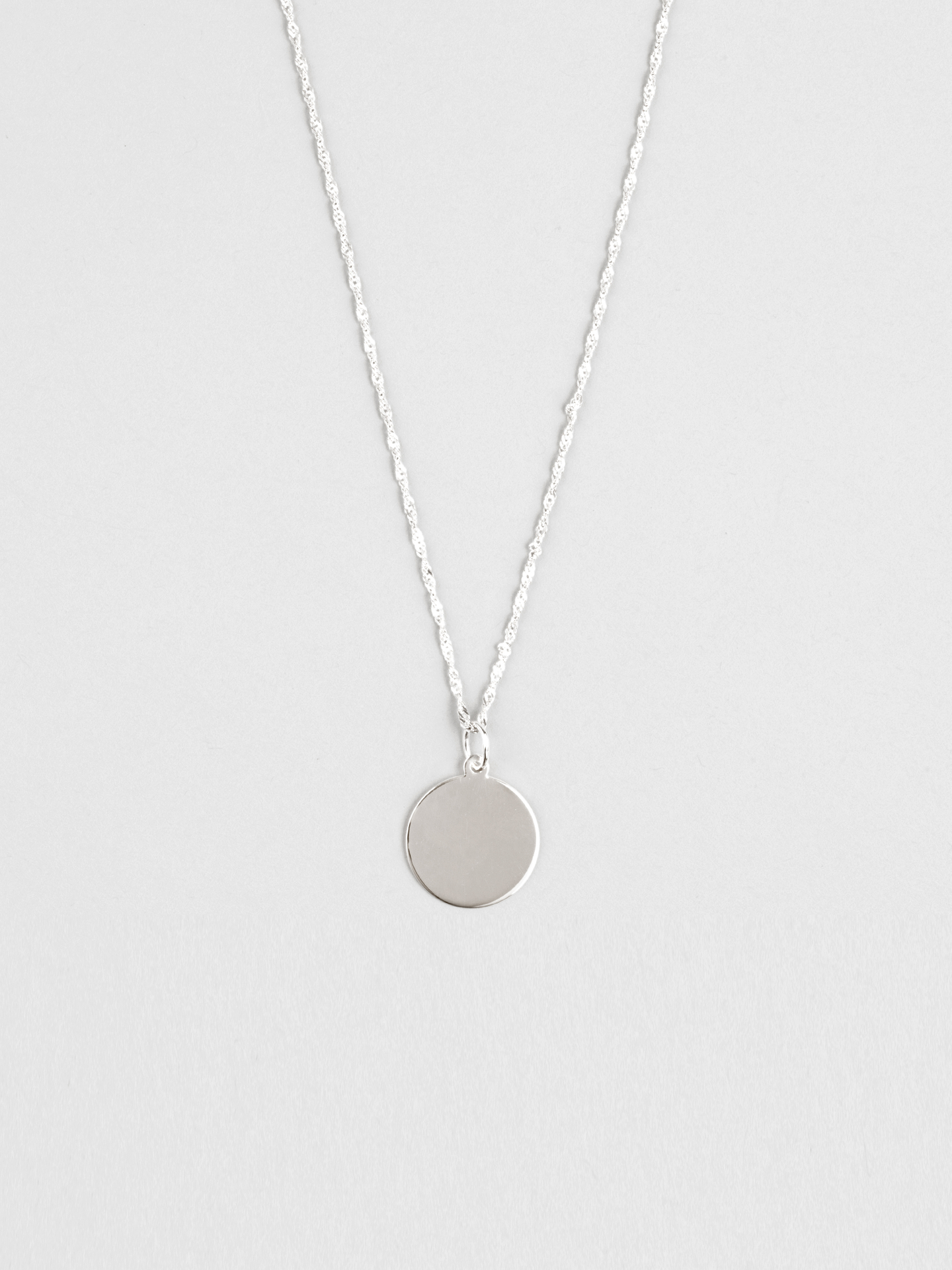 Disc 03 Necklace