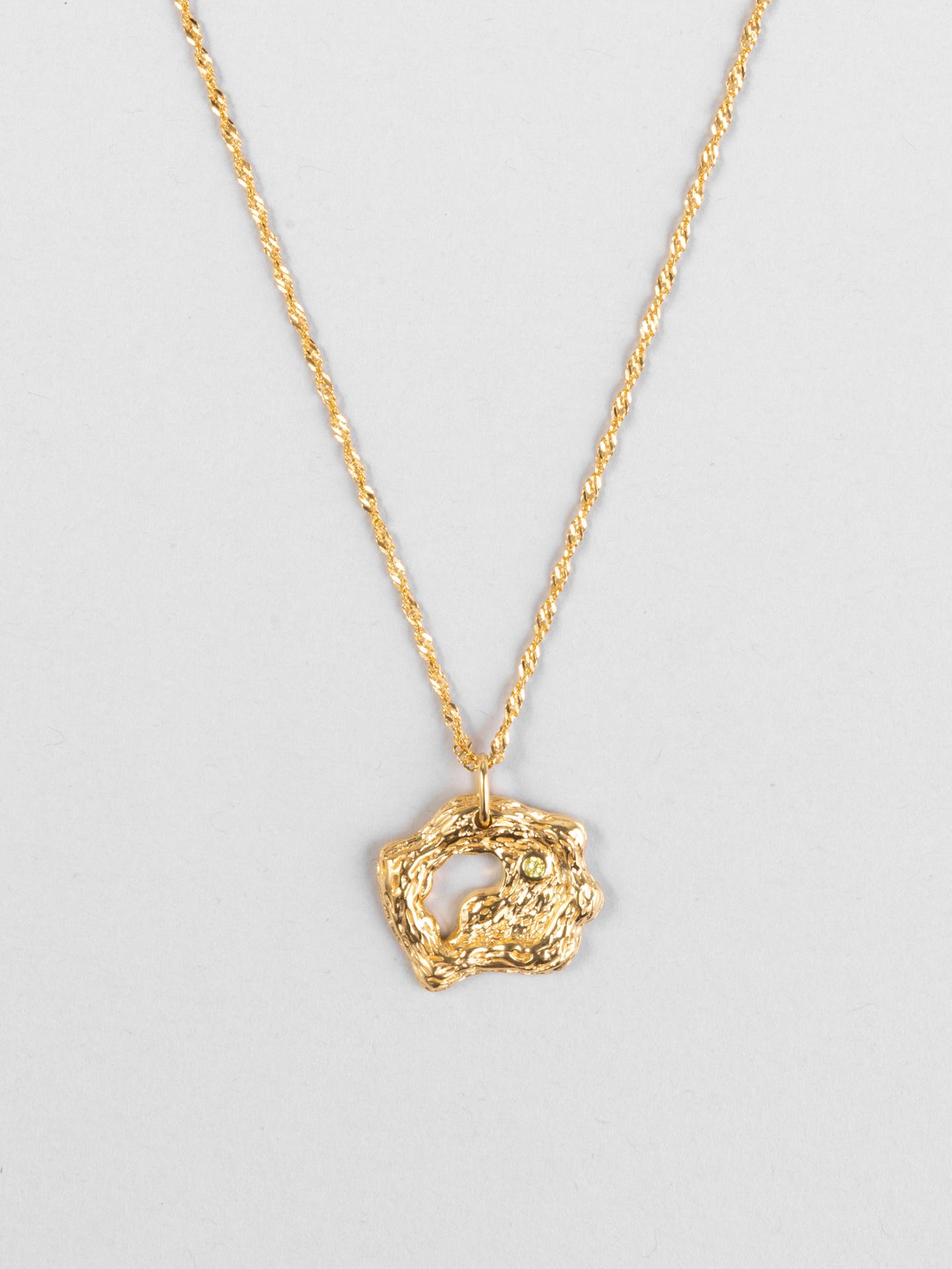 Golden eternity Necklace