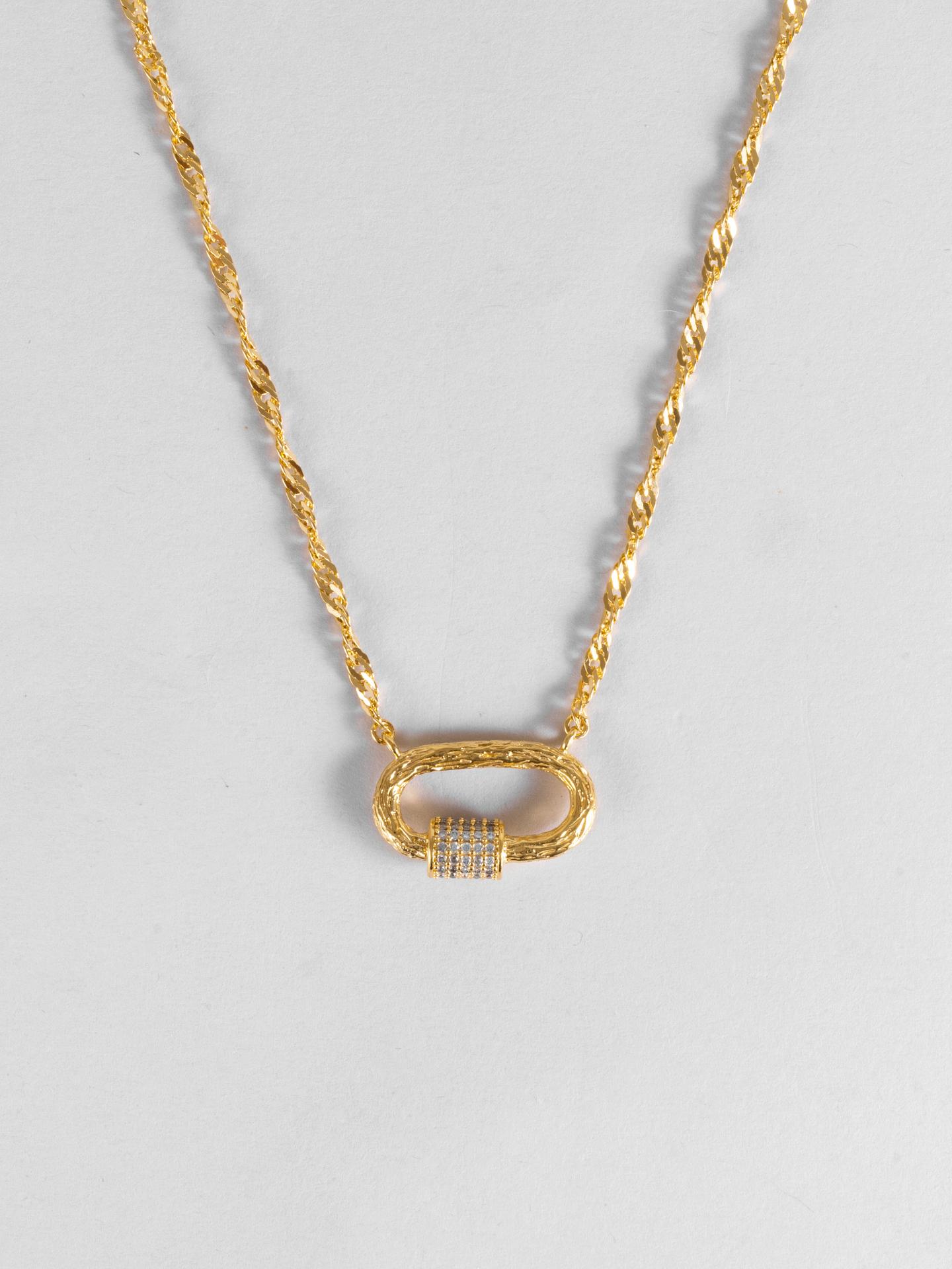 Mega Lock Necklace