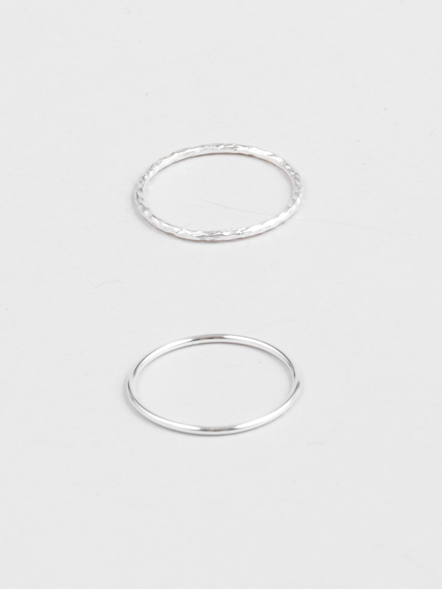For Mankind Stacking Rings