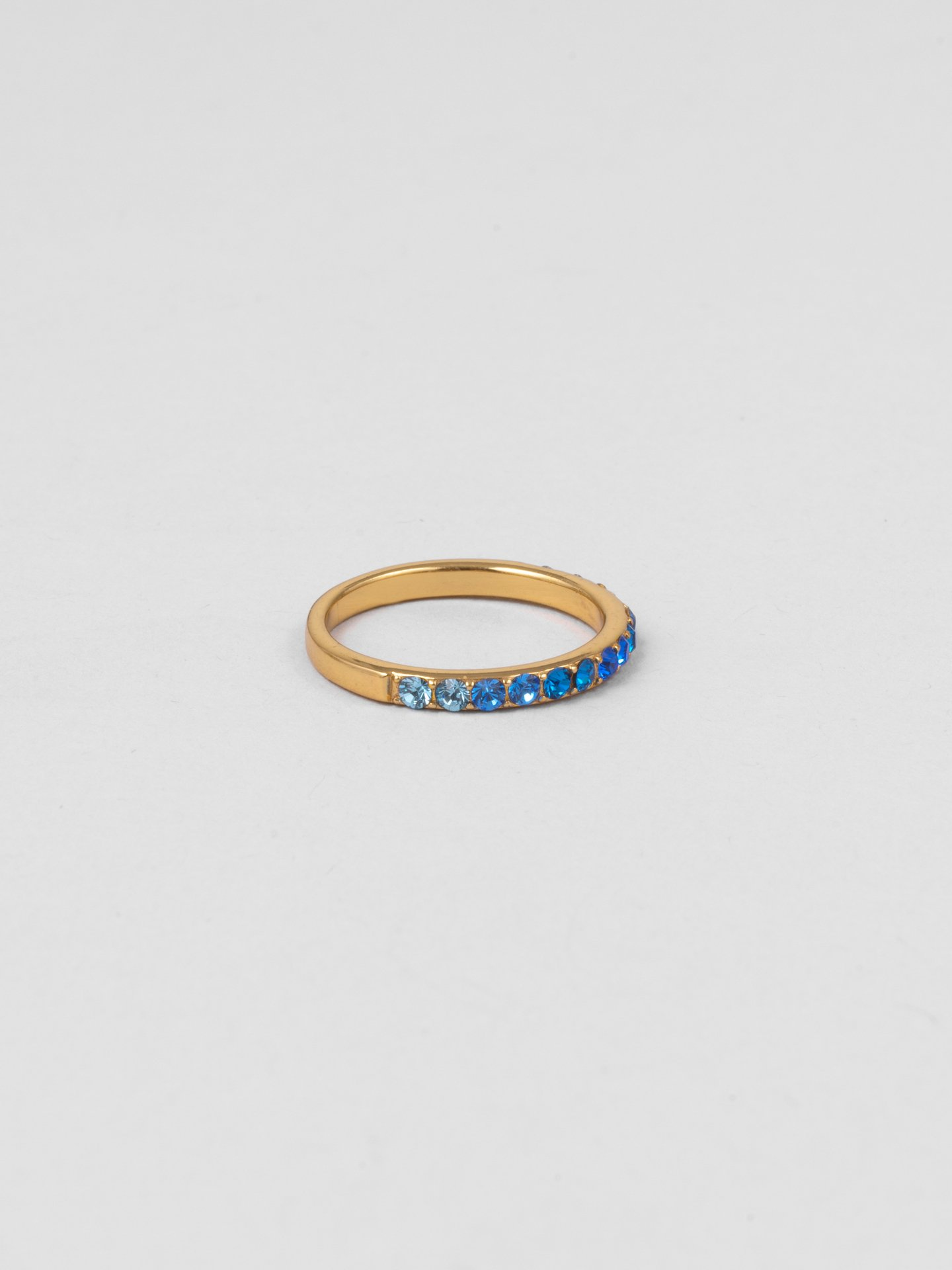 Blue Ombre Ring