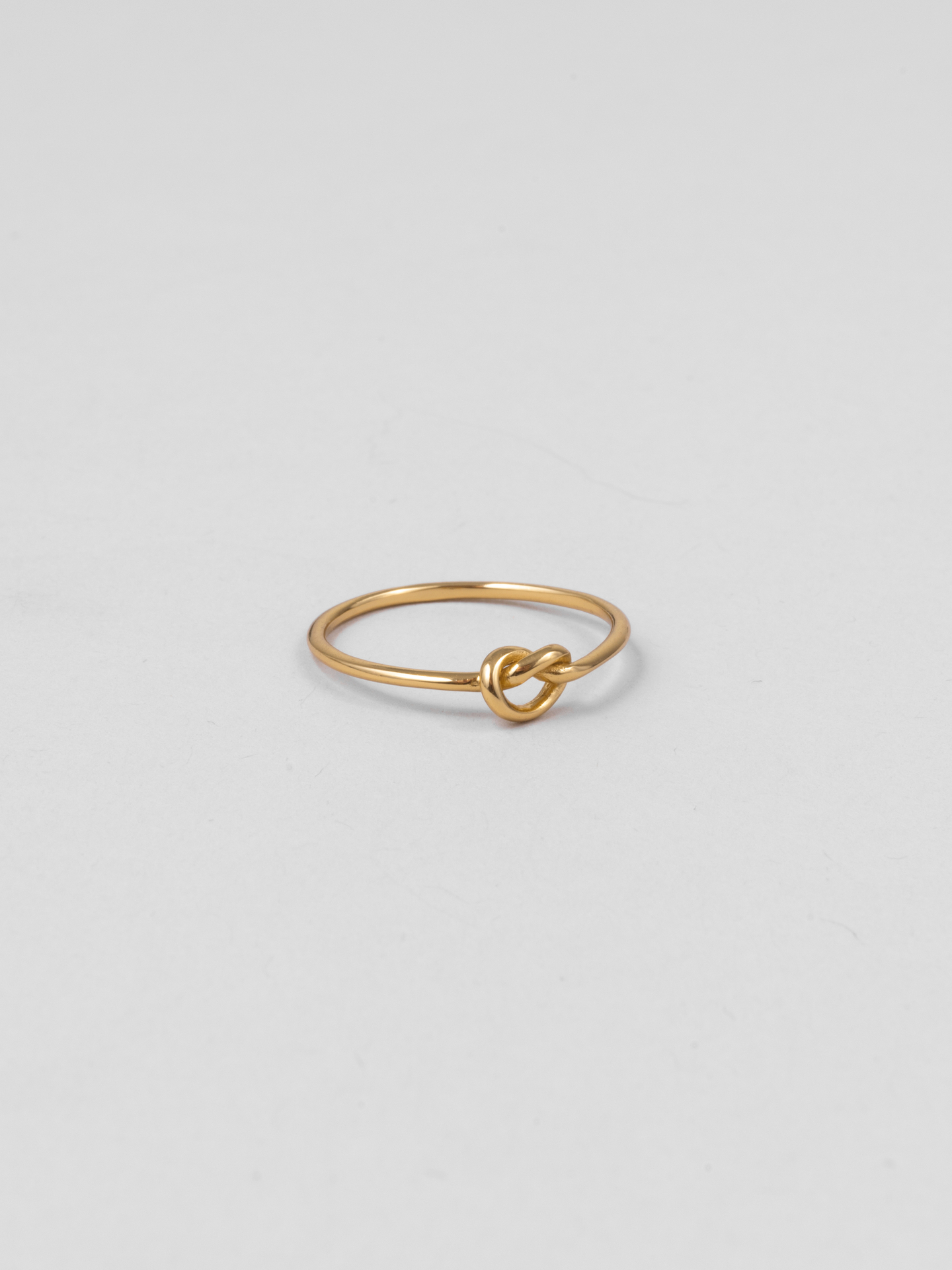 Recycled Knot Ring